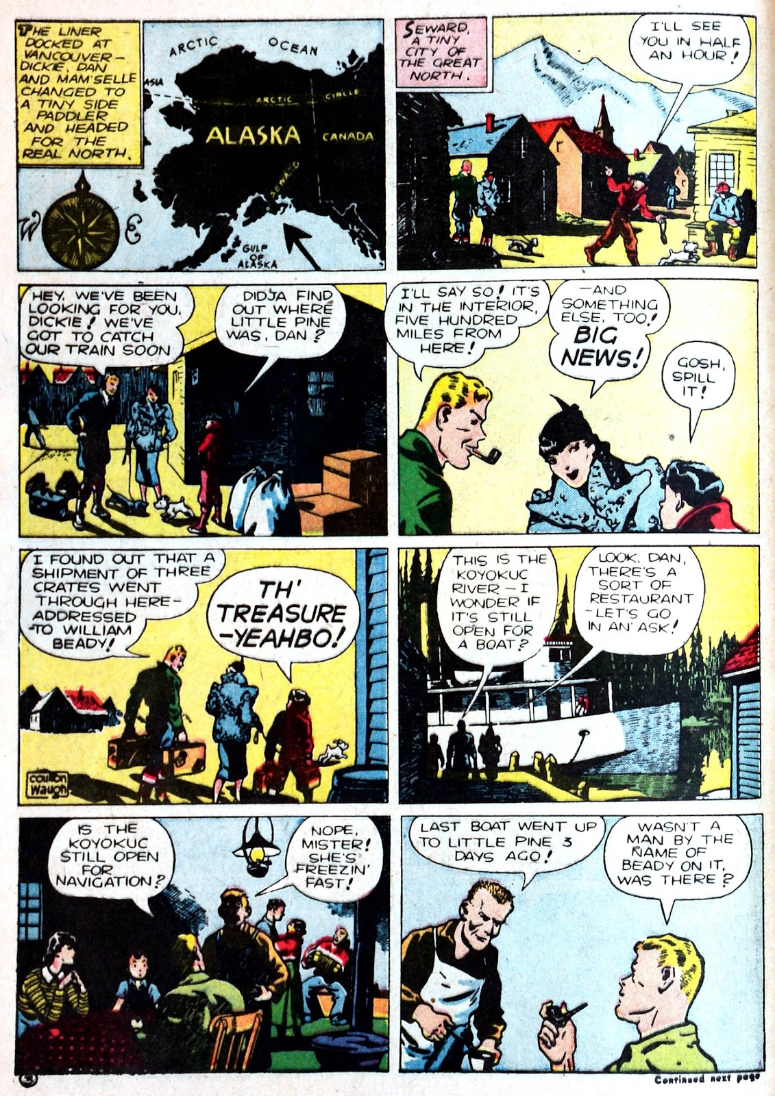 Read online Famous Funnies comic -  Issue #87 - 14
