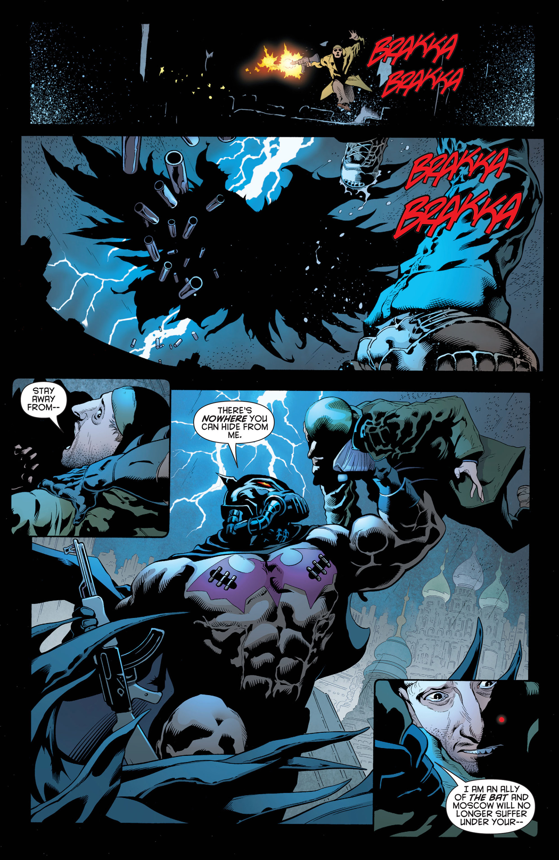 Read online Batman and Robin (2011) comic -  Issue #1 - 3