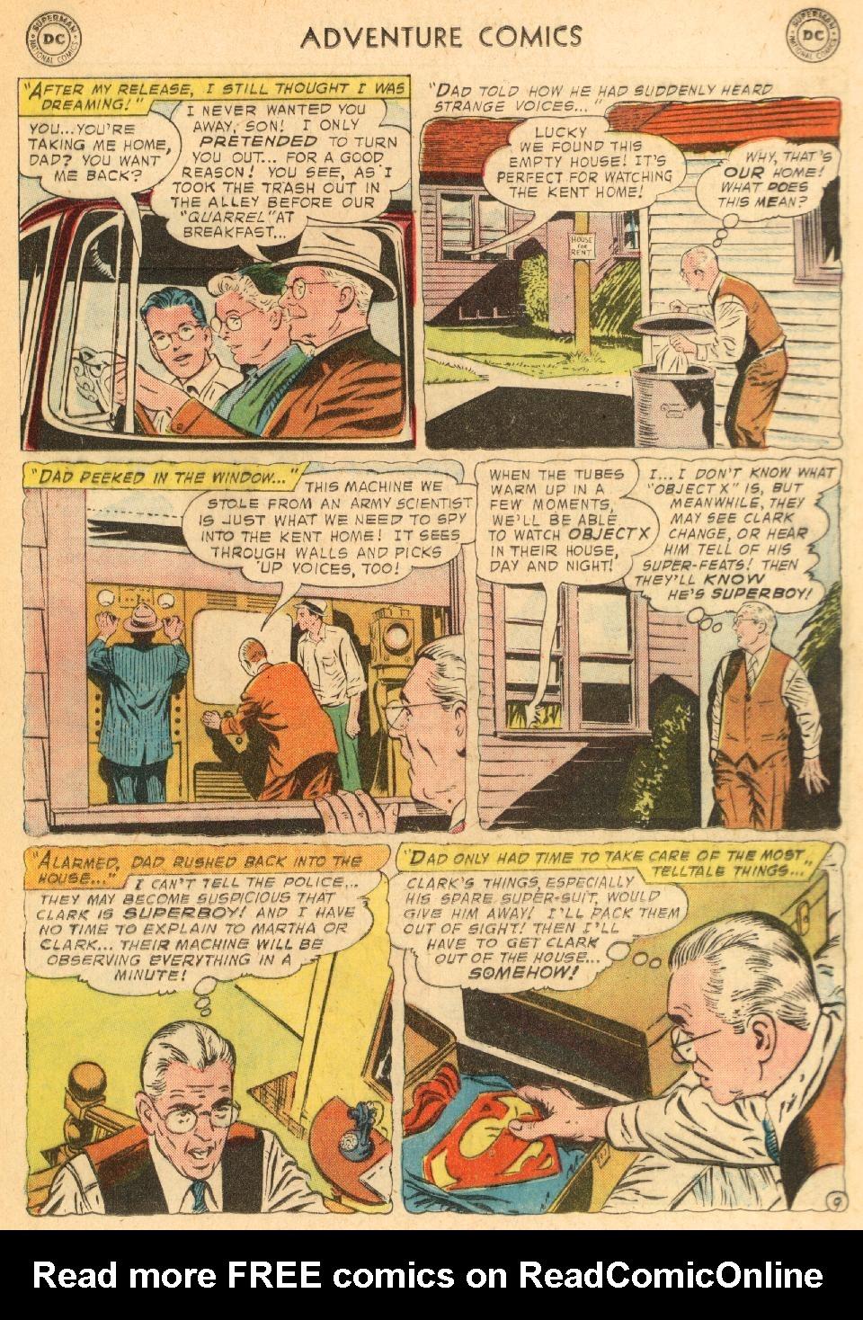 Read online Adventure Comics (1938) comic -  Issue #249 - 11