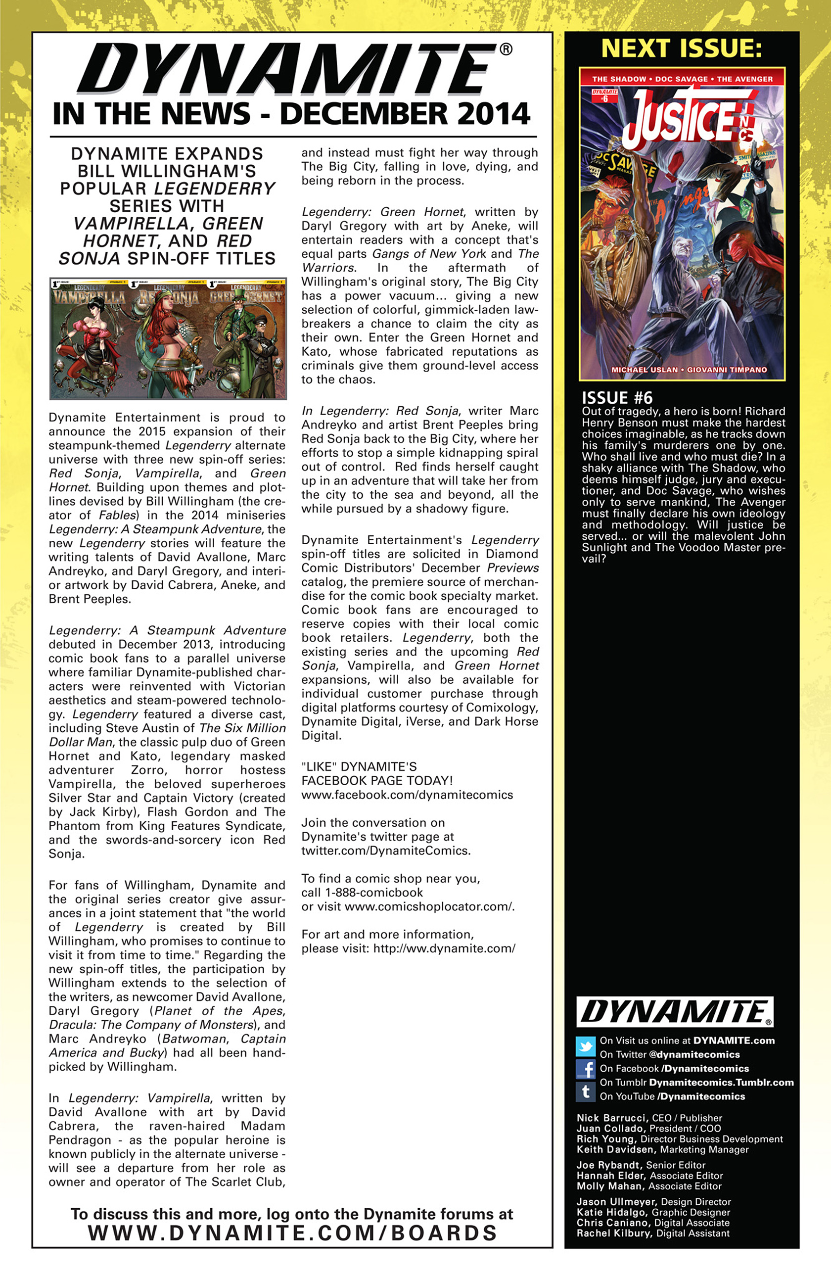 Read online Justice, Inc. comic -  Issue #5 - 27
