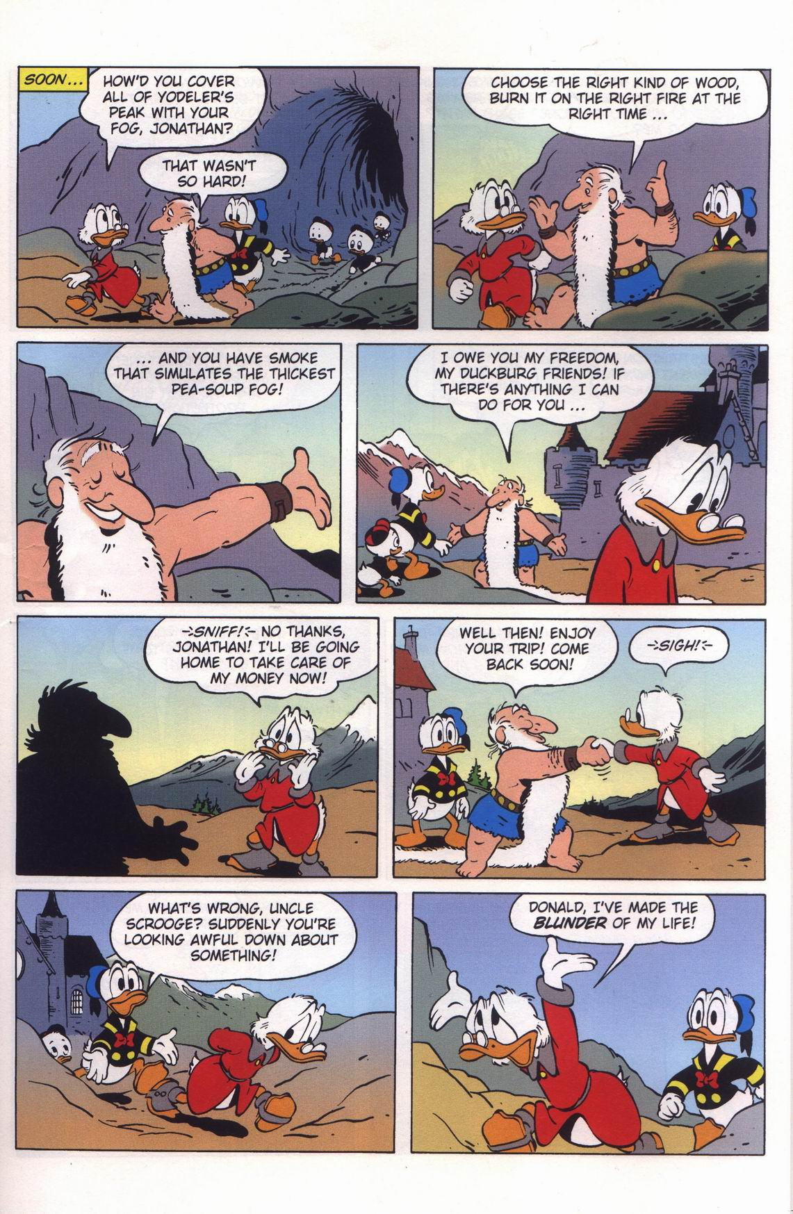 Read online Uncle Scrooge (1953) comic -  Issue #313 - 31