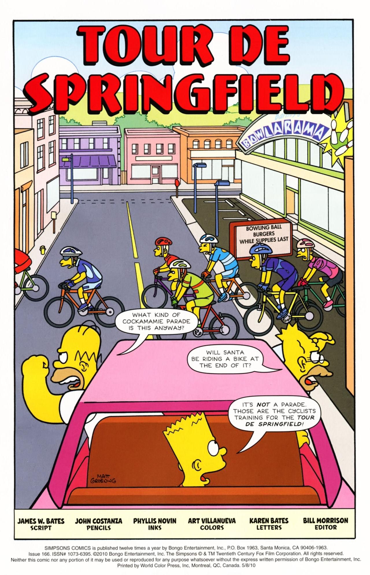 Read online Simpsons Comics comic -  Issue #166 - 2