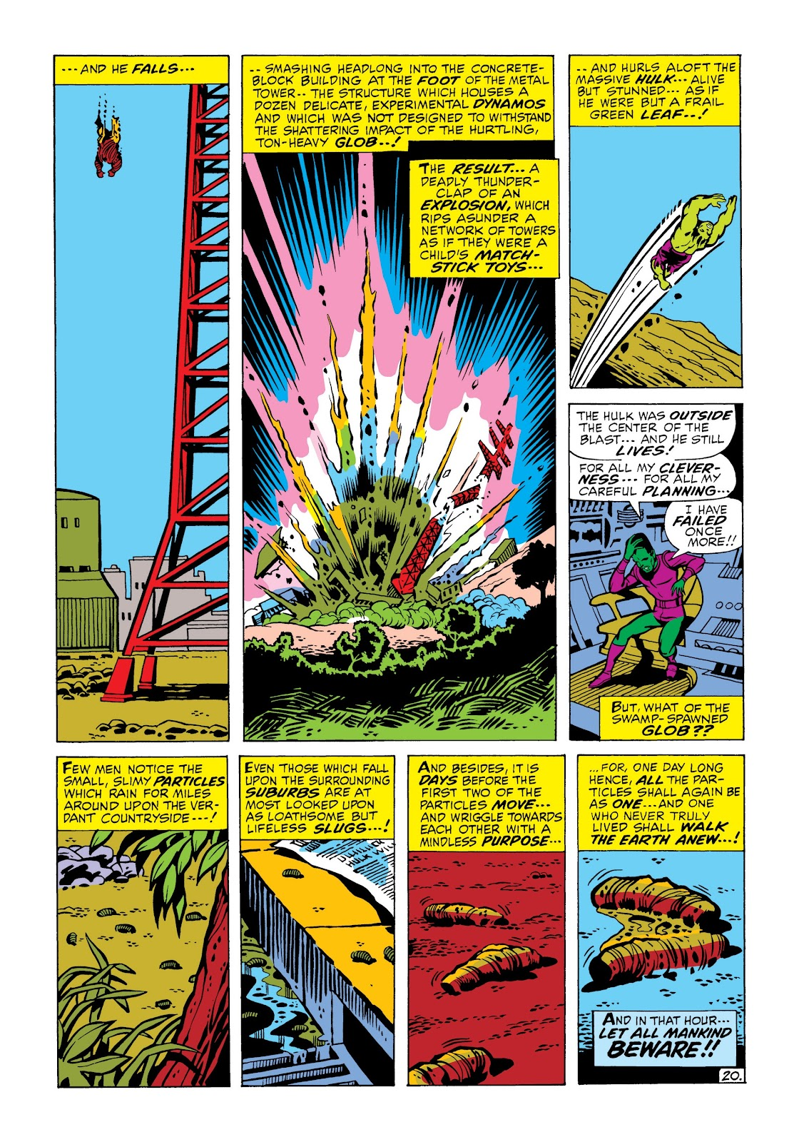 Read online Marvel Masterworks: The Incredible Hulk comic -  Issue # TPB 6 (Part 2) - 73