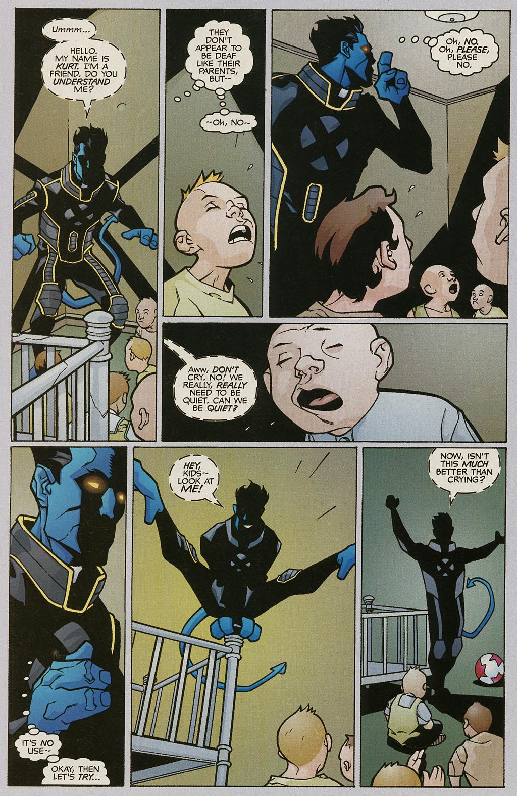 Read online Nightcrawler (2002) comic -  Issue #2 - 8