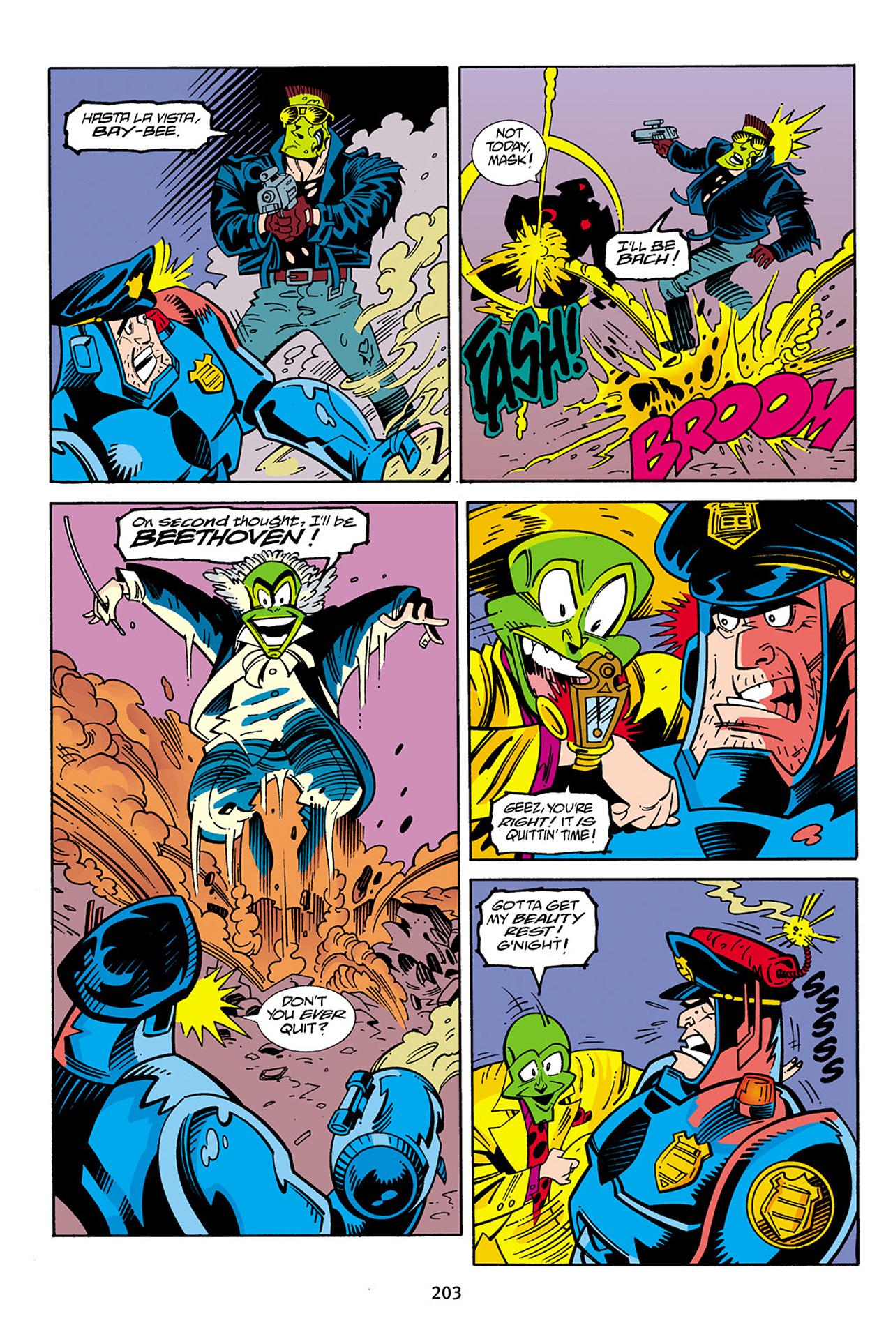 Read online Adventures Of The Mask Omnibus comic -  Issue #Adventures Of The Mask Omnibus Full - 202