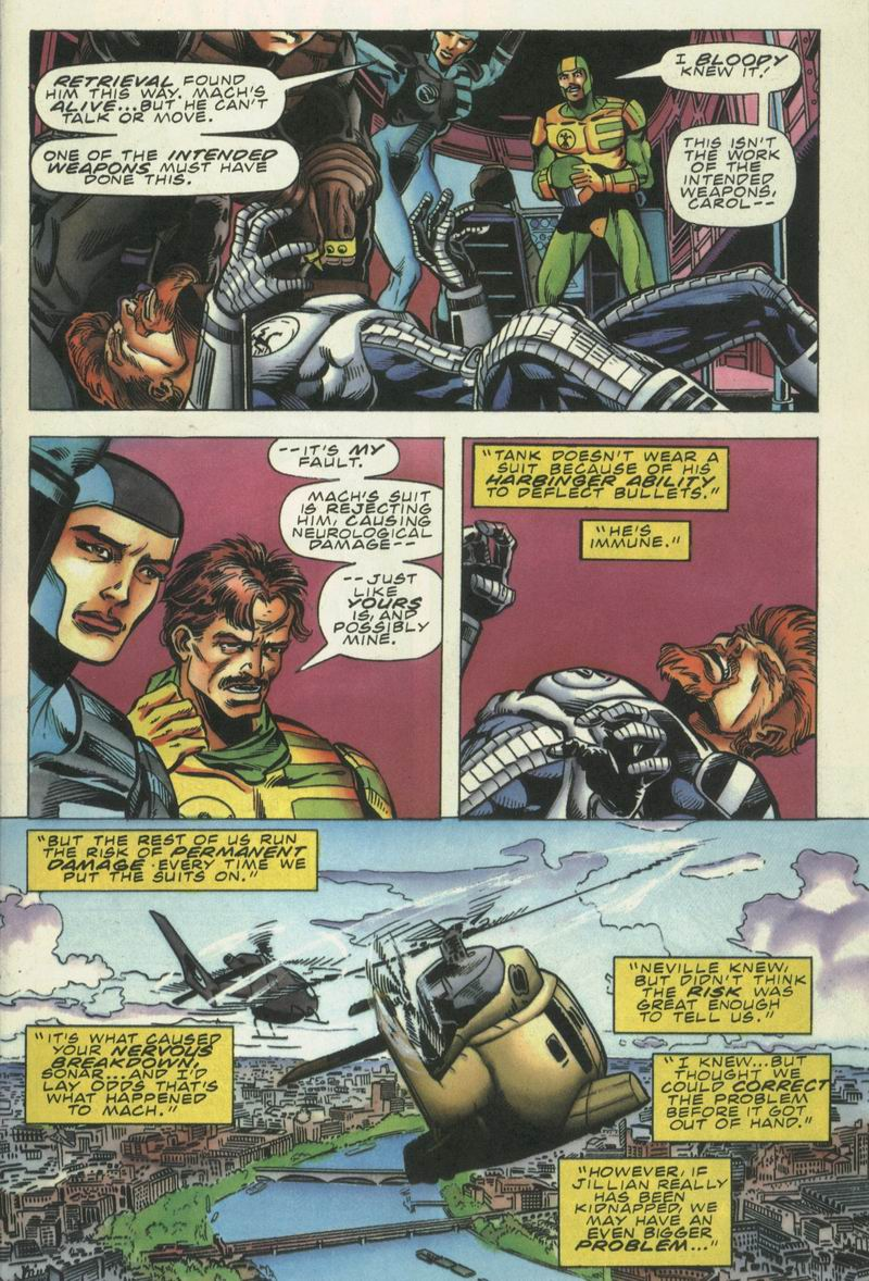 Read online Secret Weapons comic -  Issue #16 - 4