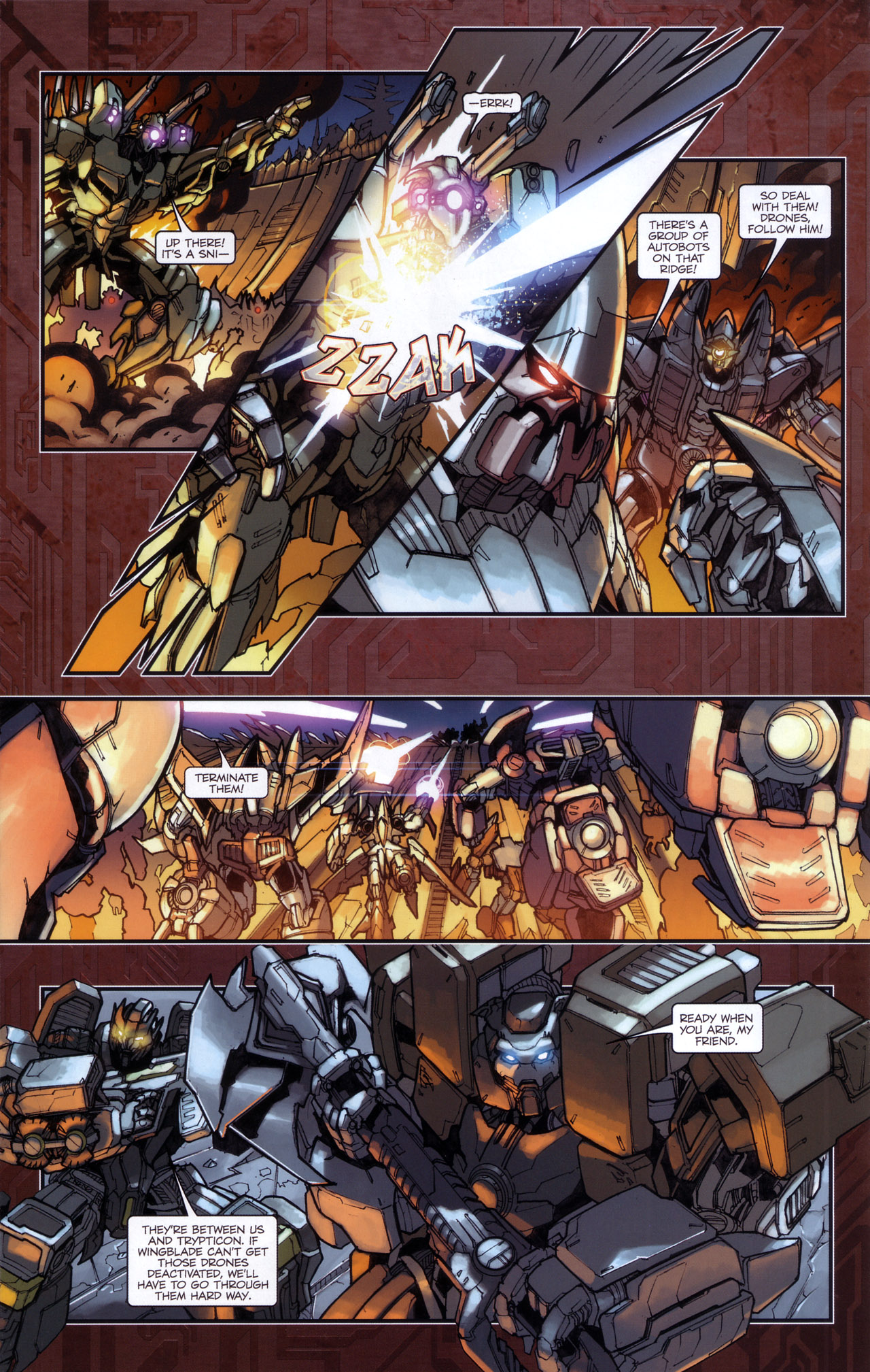 Read online Transformers: The Reign of Starscream comic -  Issue #5 - 14