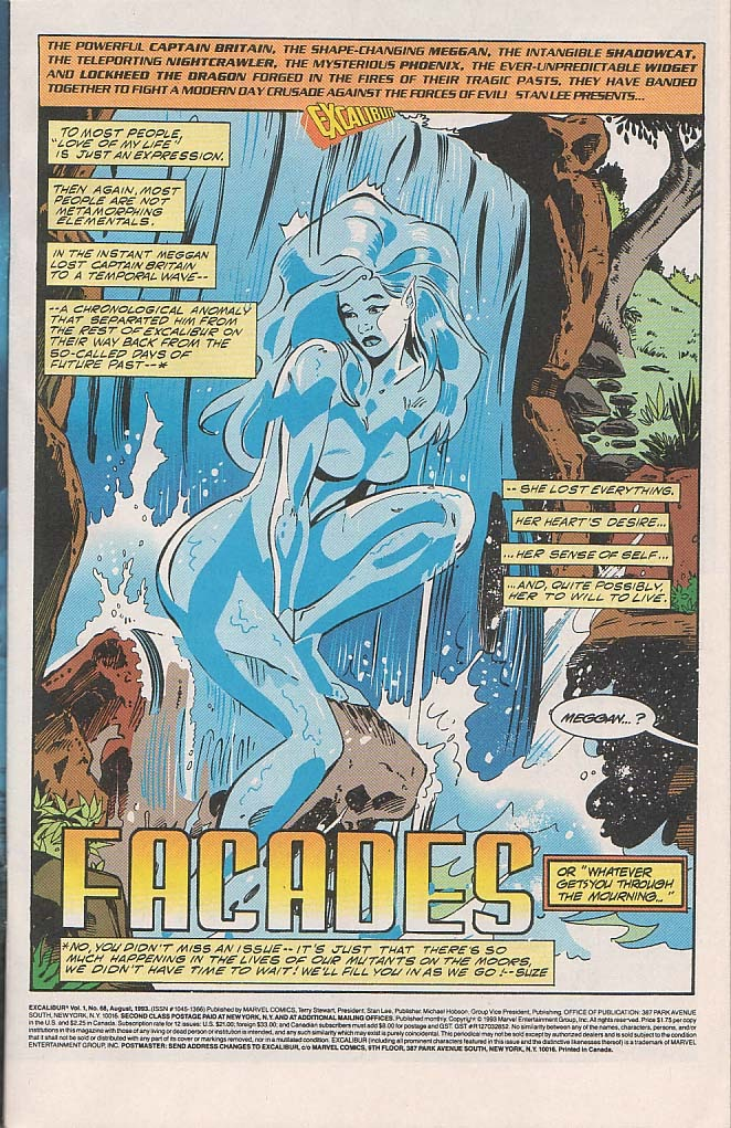Excalibur (1988) issue 68 - Page 2