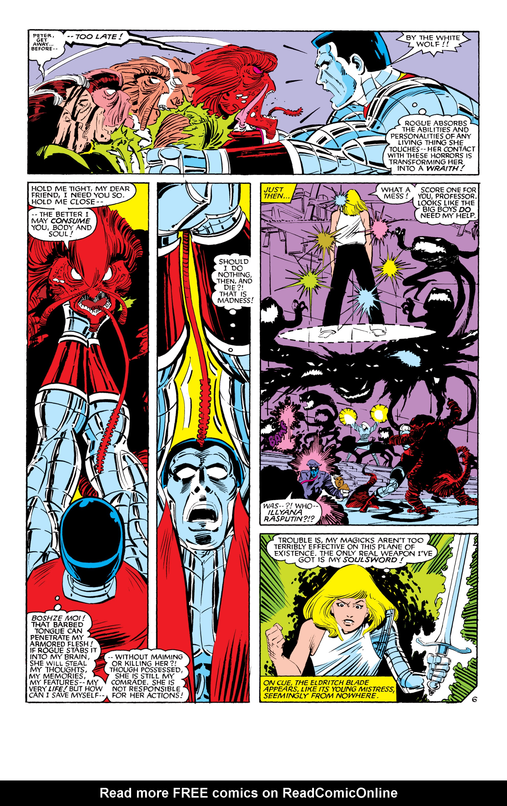 Read online Uncanny X-Men (1963) comic -  Issue #188 - 7