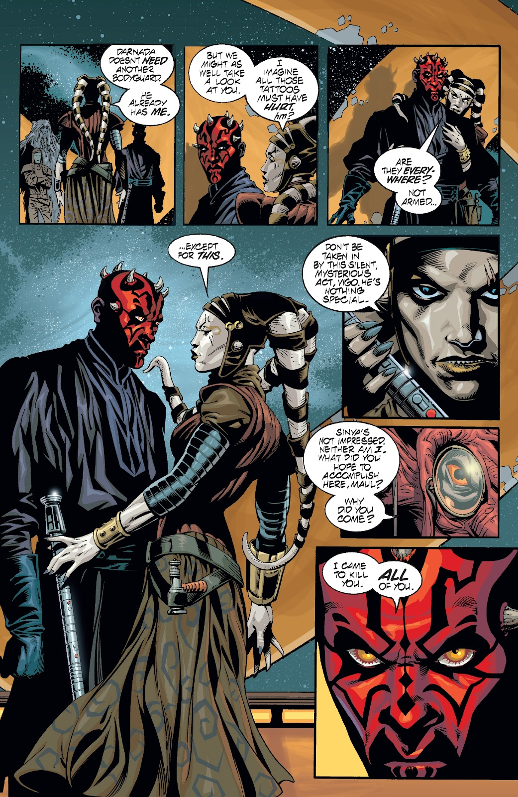 Read online Star Wars Legends: Rise of the Sith - Epic Collection comic -  Issue # TPB 2 (Part 2) - 75