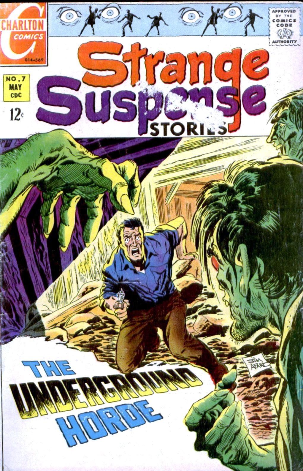 Strange Suspense Stories (1967) issue 7 - Page 1