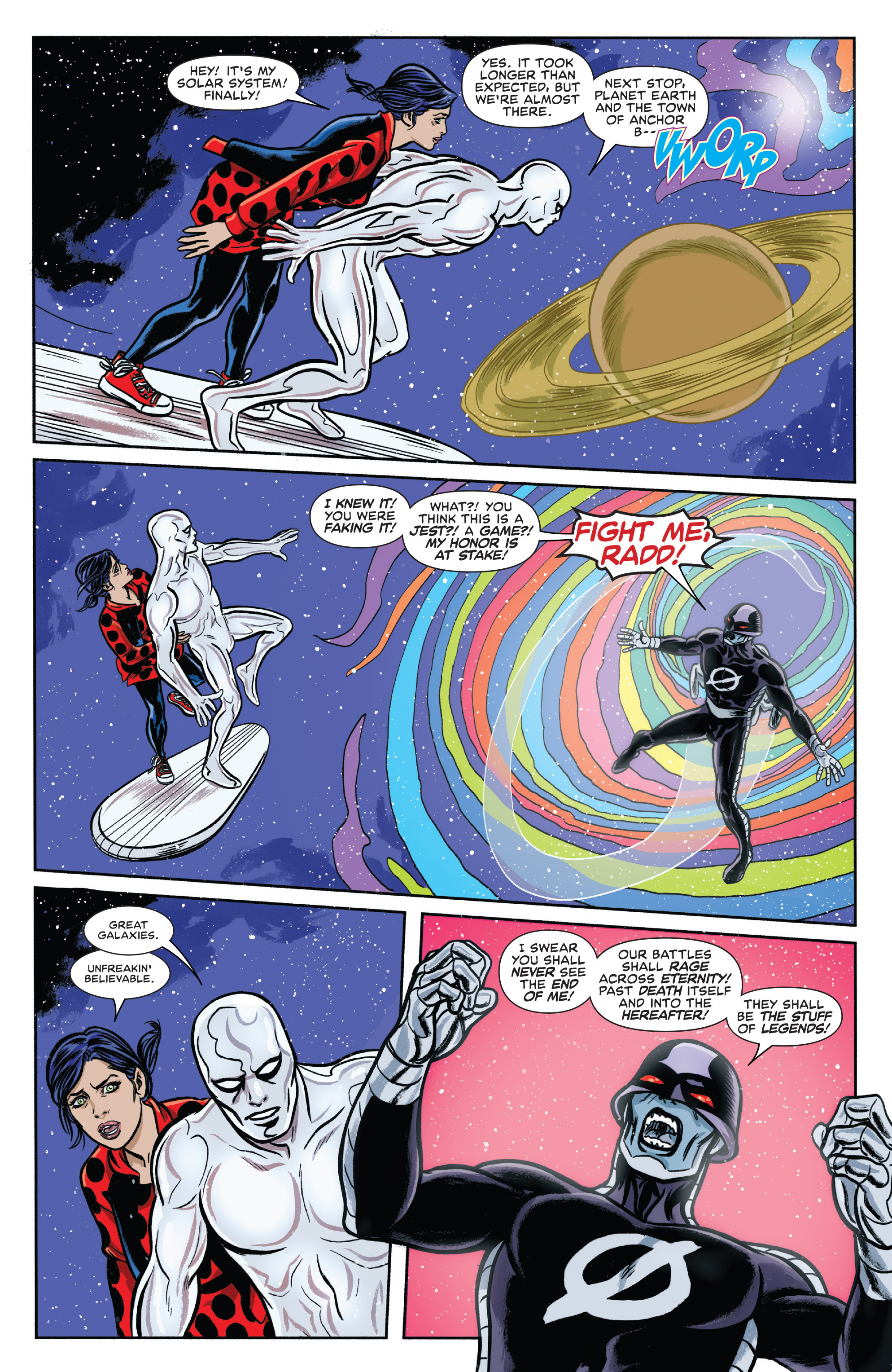 Read online Silver Surfer (2016) comic -  Issue #11 - 14