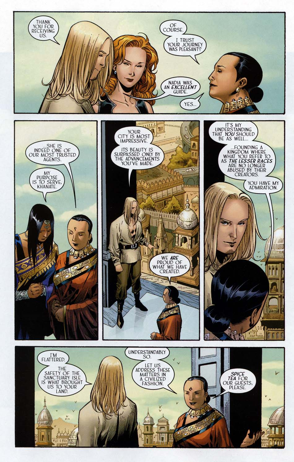 Read online Scion comic -  Issue #32 - 14