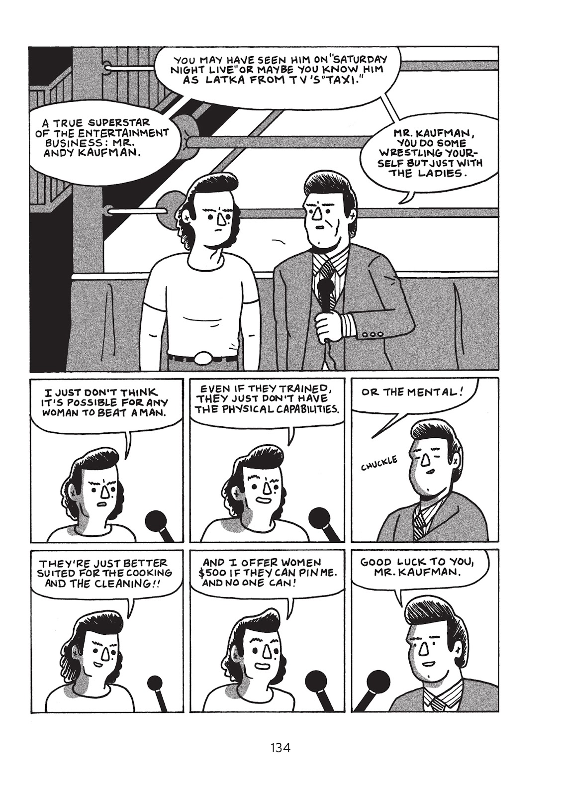 Read online Is This Guy For Real?: The Unbelievable Andy Kaufman comic -  Issue # TPB (Part 2) - 40