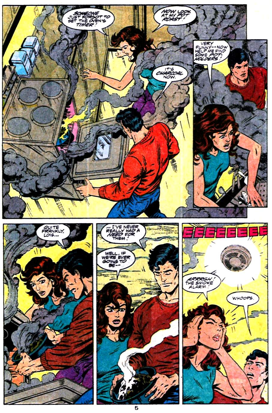 Read online Adventures of Superman (1987) comic -  Issue #484 - 6