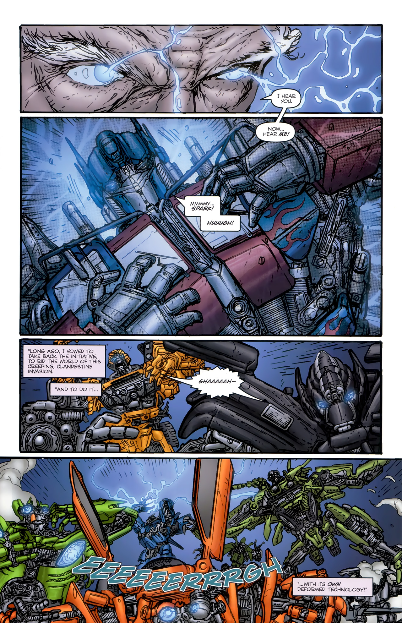 Read online Transformers: Nefarious comic -  Issue #6 - 15