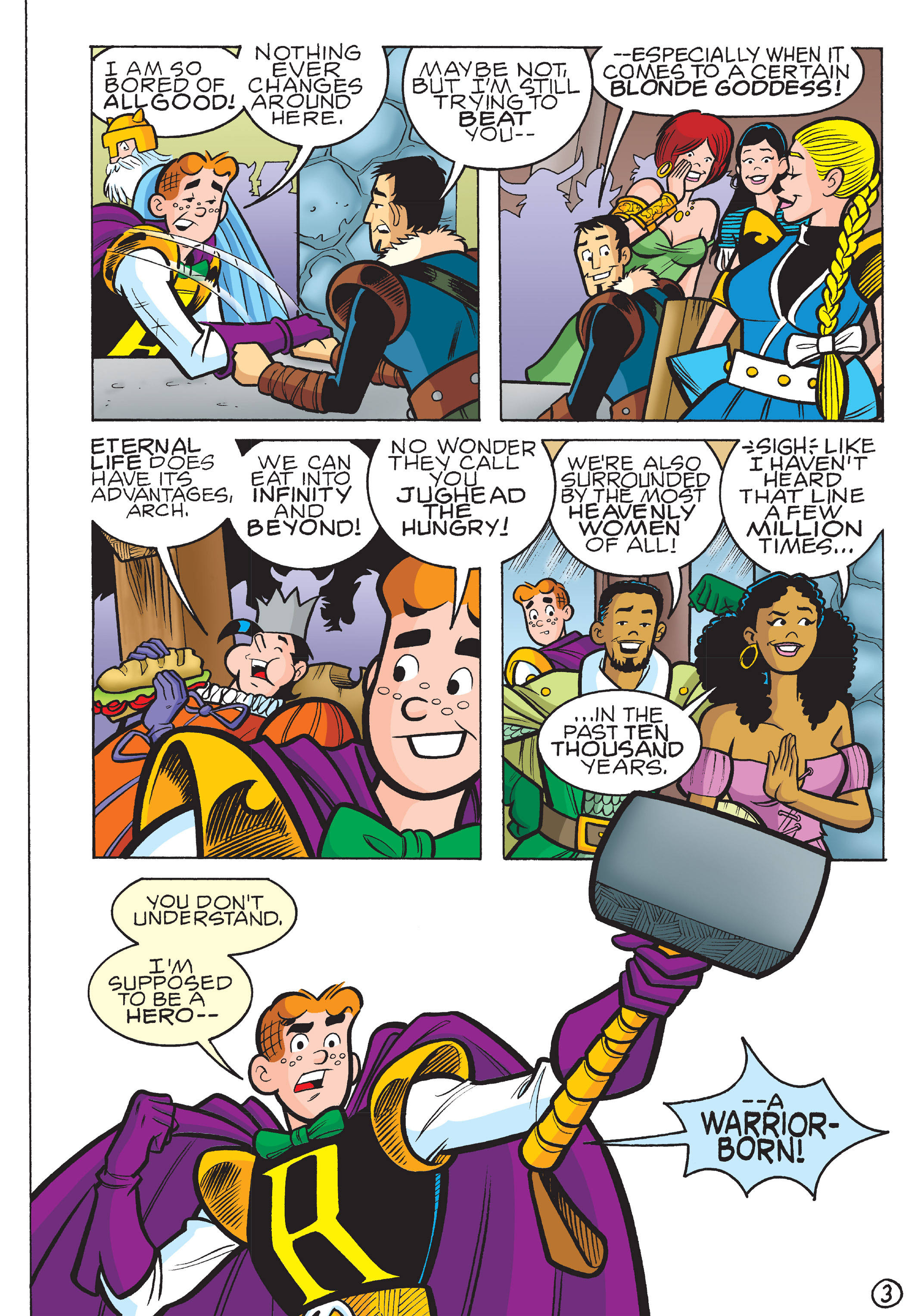 Read online The Best of Archie Comics comic -  Issue # TPB 4 (Part 2) - 187