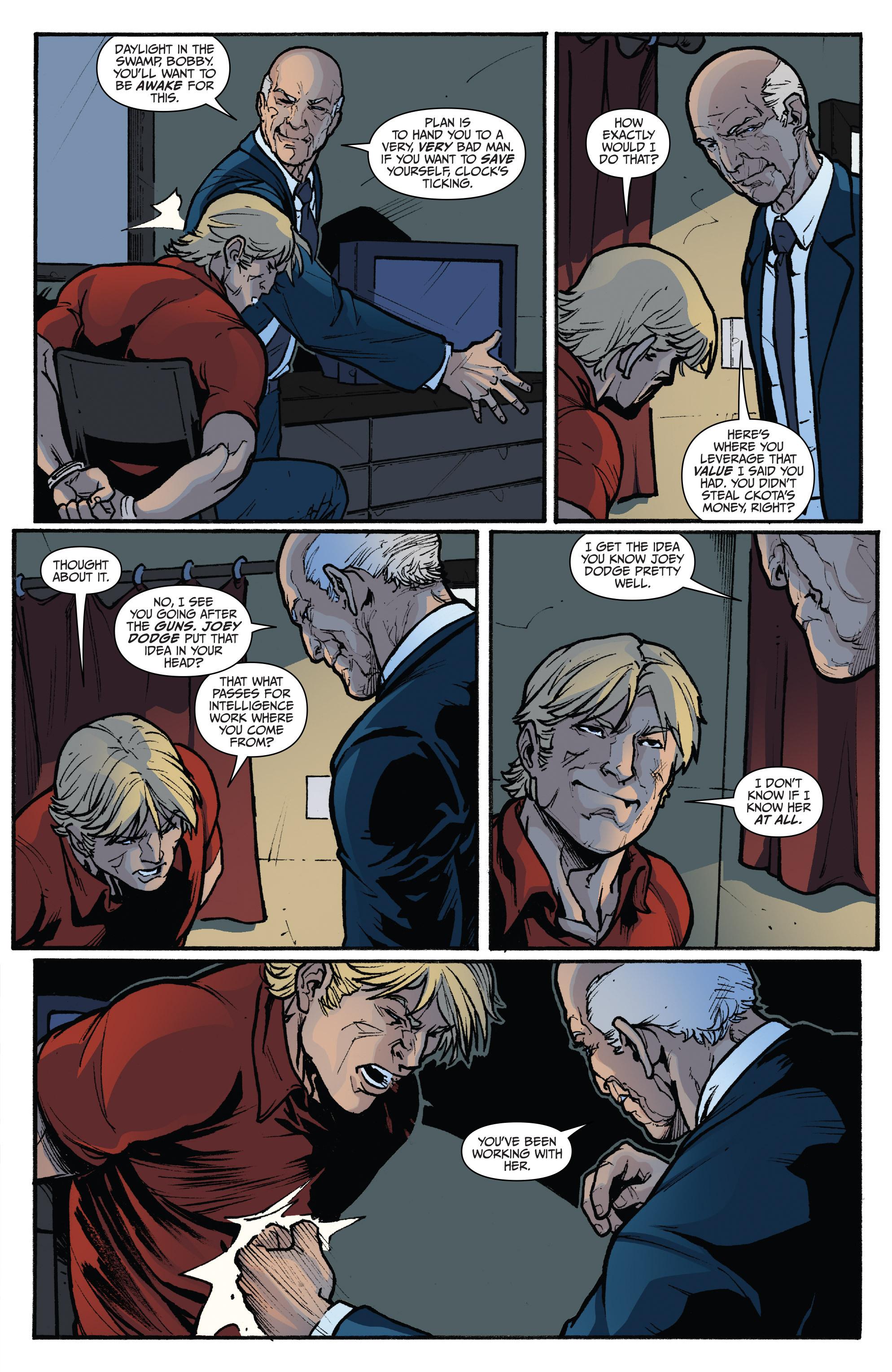 Read online 3 Guns comic -  Issue #4 - 21
