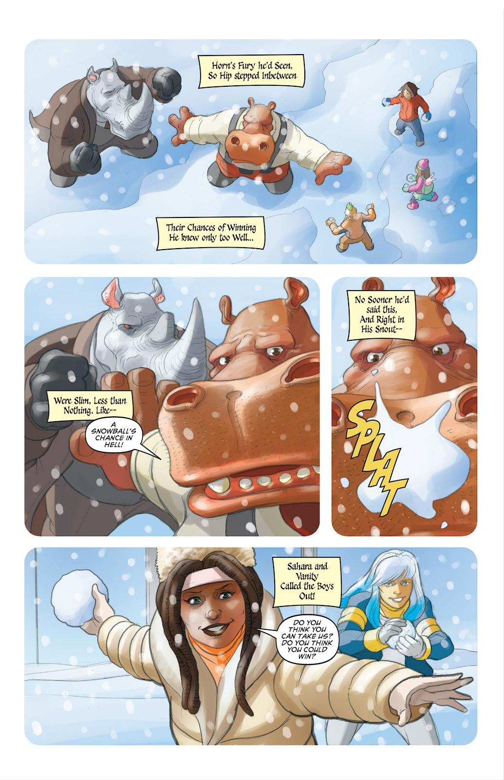 Read online Elephantmen 2261 Season Two: The Pentalion Job comic -  Issue # TPB - 112