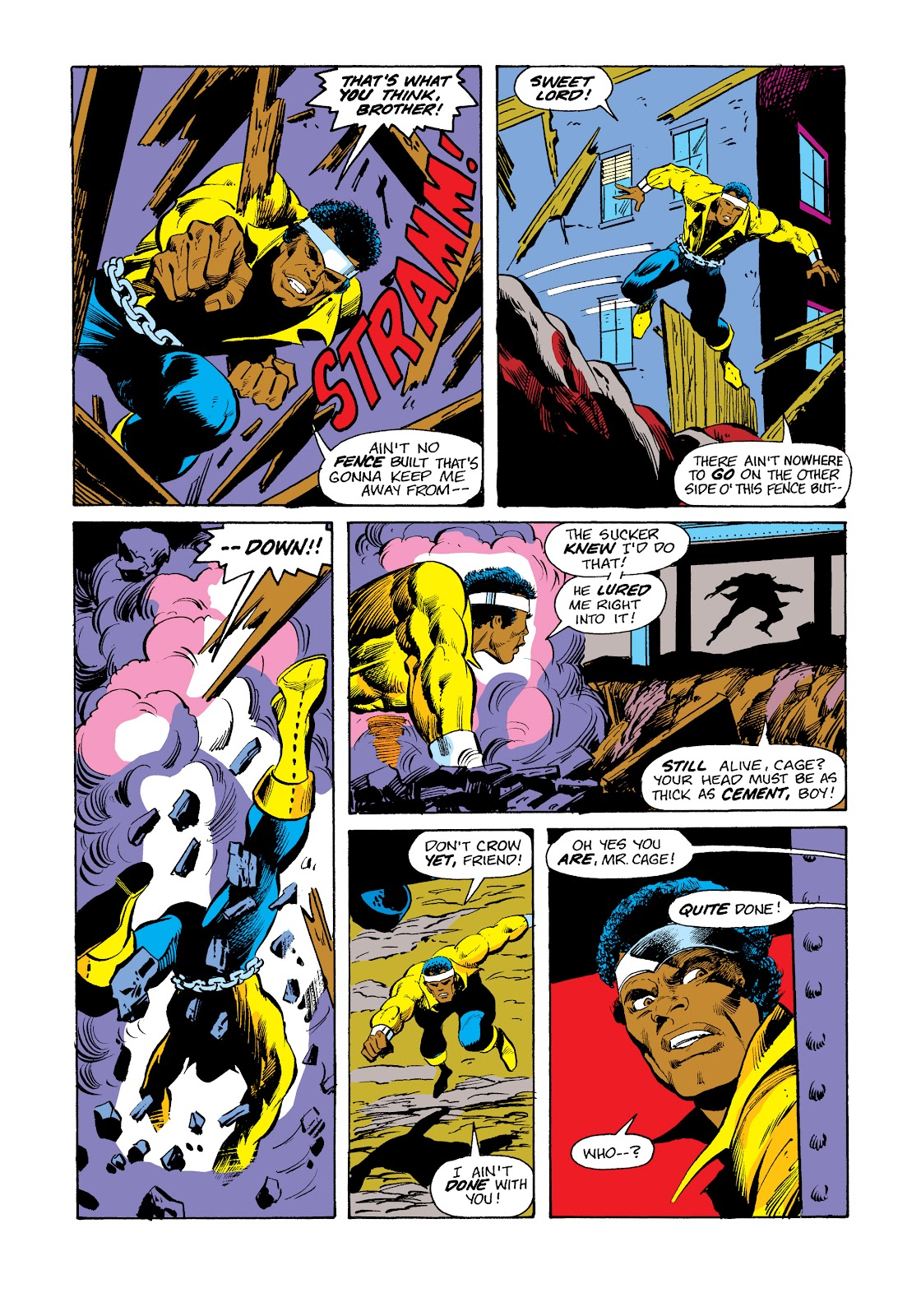 Read online Marvel Masterworks: Luke Cage, Power Man comic -  Issue # TPB 2 (Part 3) - 45