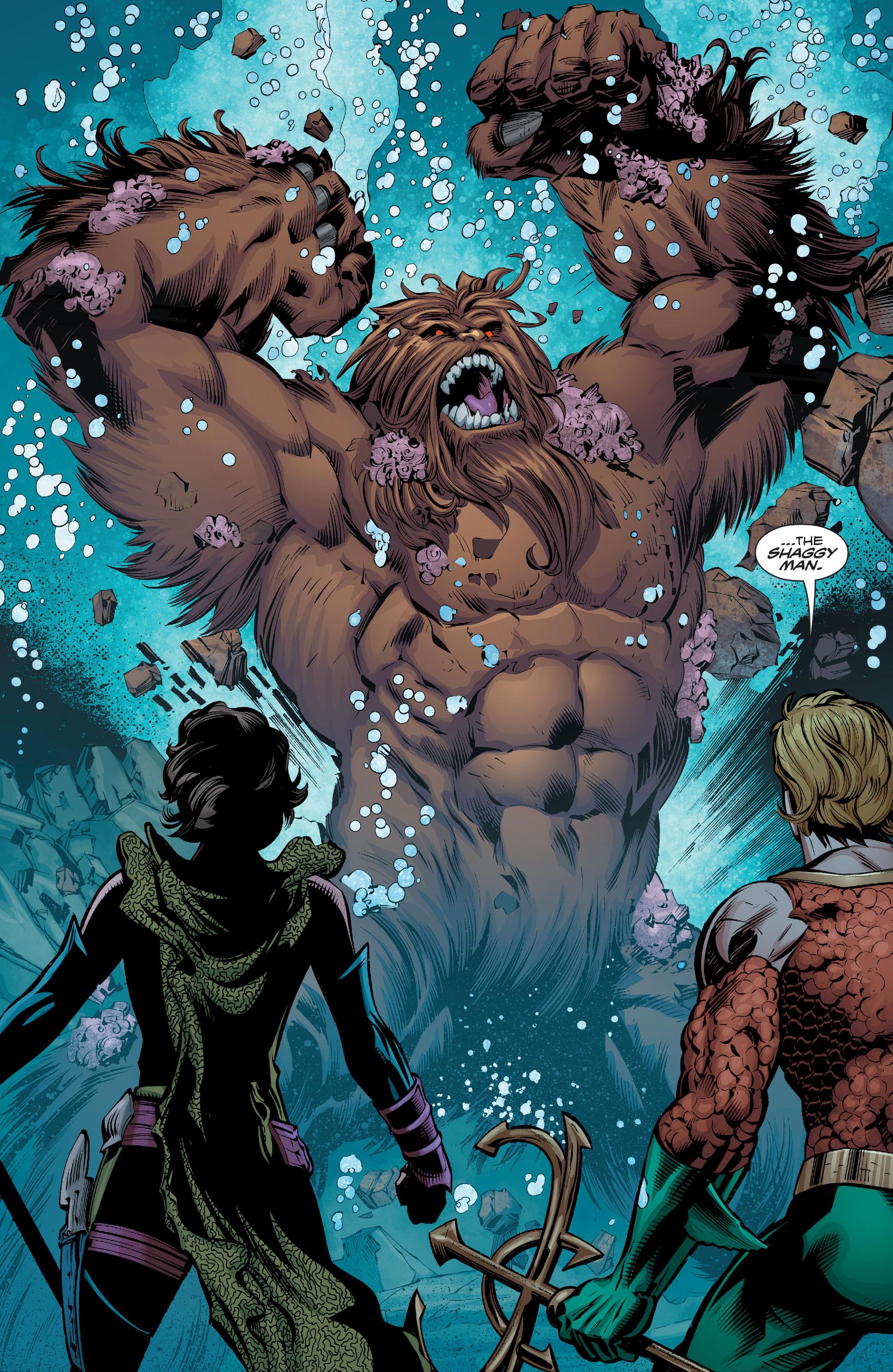 Read online Aquaman (2016) comic -  Issue #8 - 20