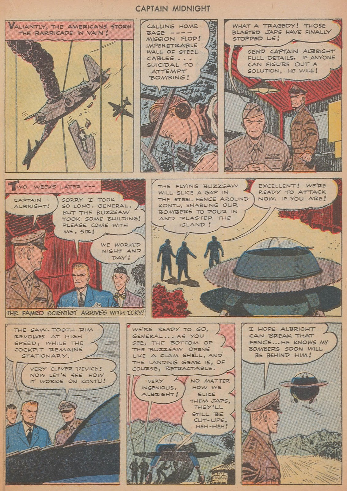 Captain Midnight (1942) issue 29 - Page 15