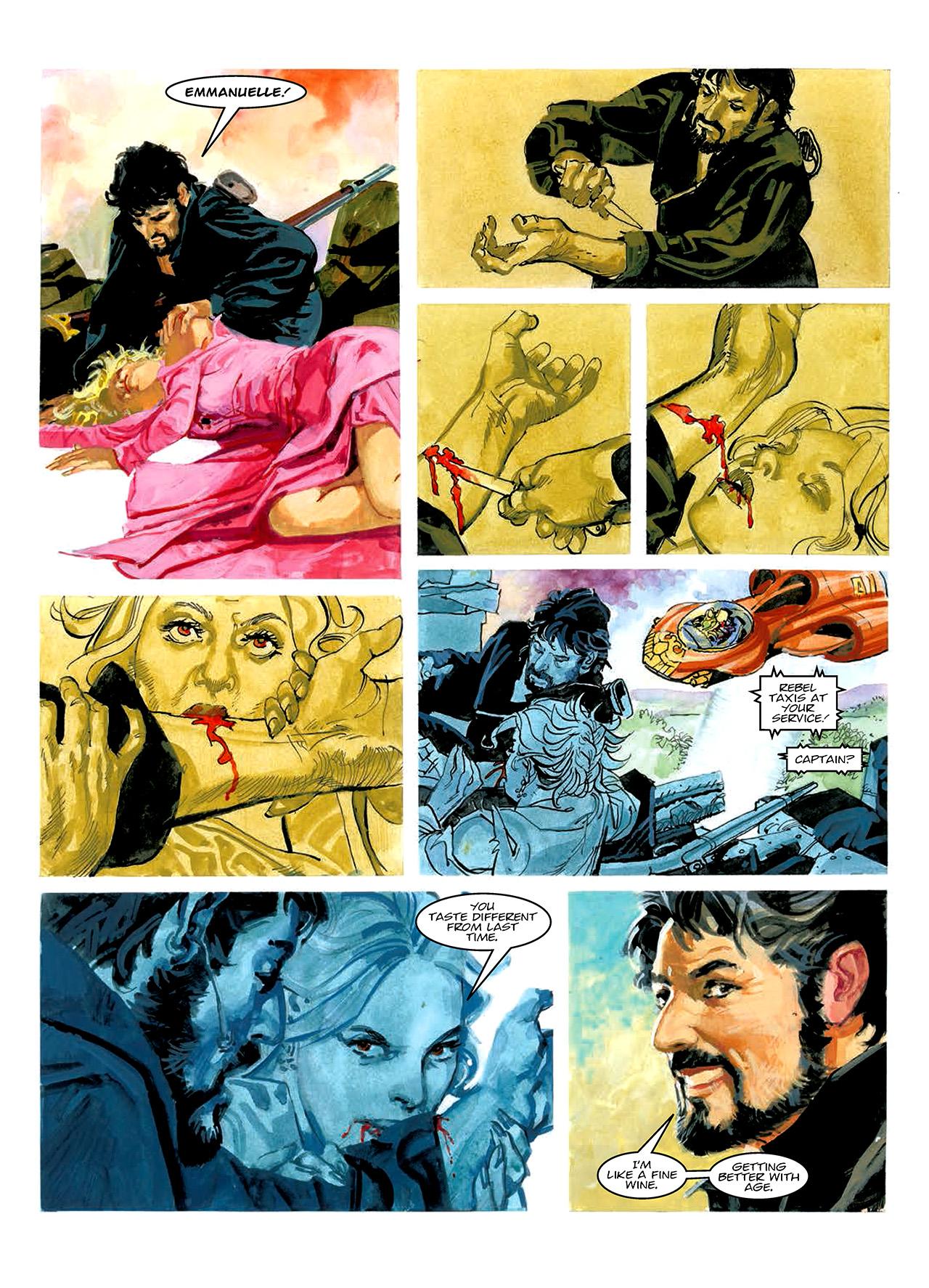 Read online Nikolai Dante comic -  Issue # TPB 10 - 181