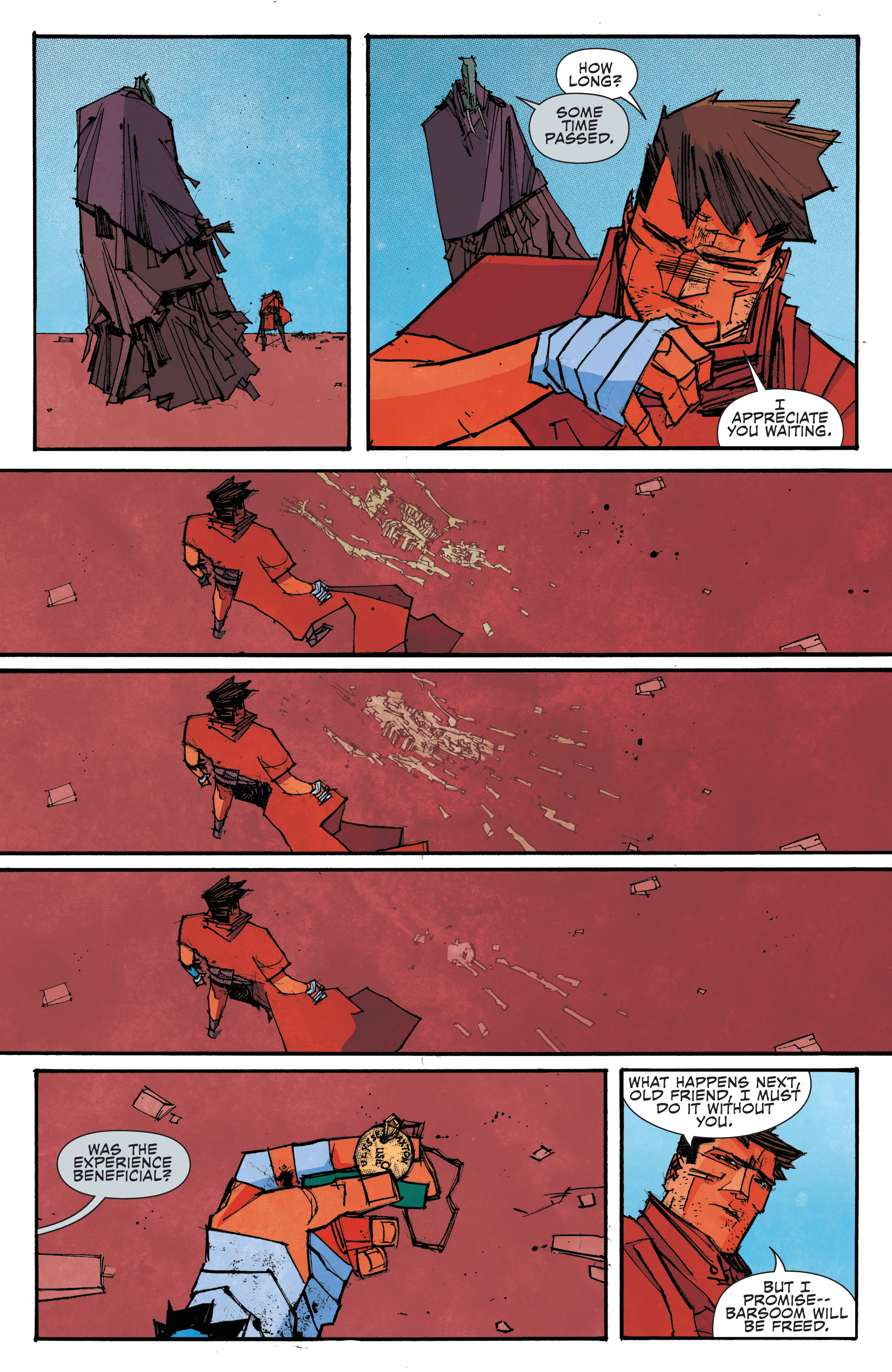 Read online John Carter: The End comic -  Issue #4 - 20