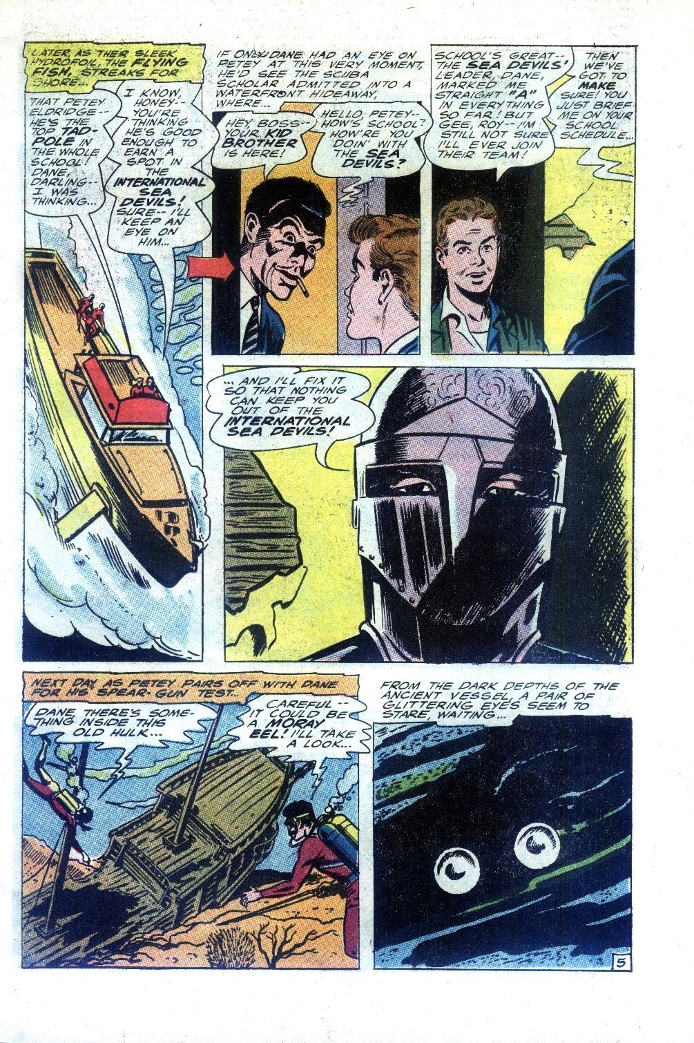 Read online Sea Devils comic -  Issue #27 - 8