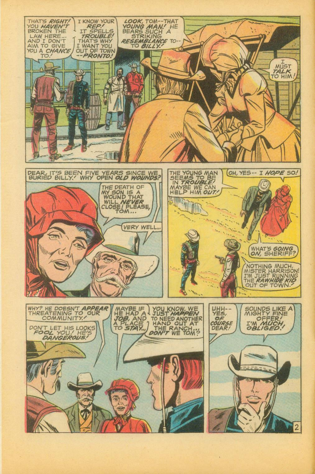 The Rawhide Kid (1955) issue 73 - Page 5