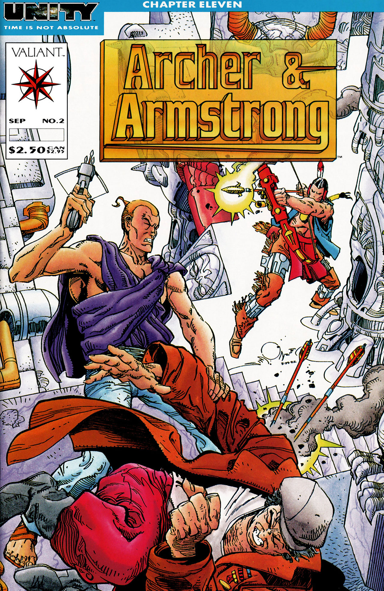 Archer & Armstrong 2 Page 1