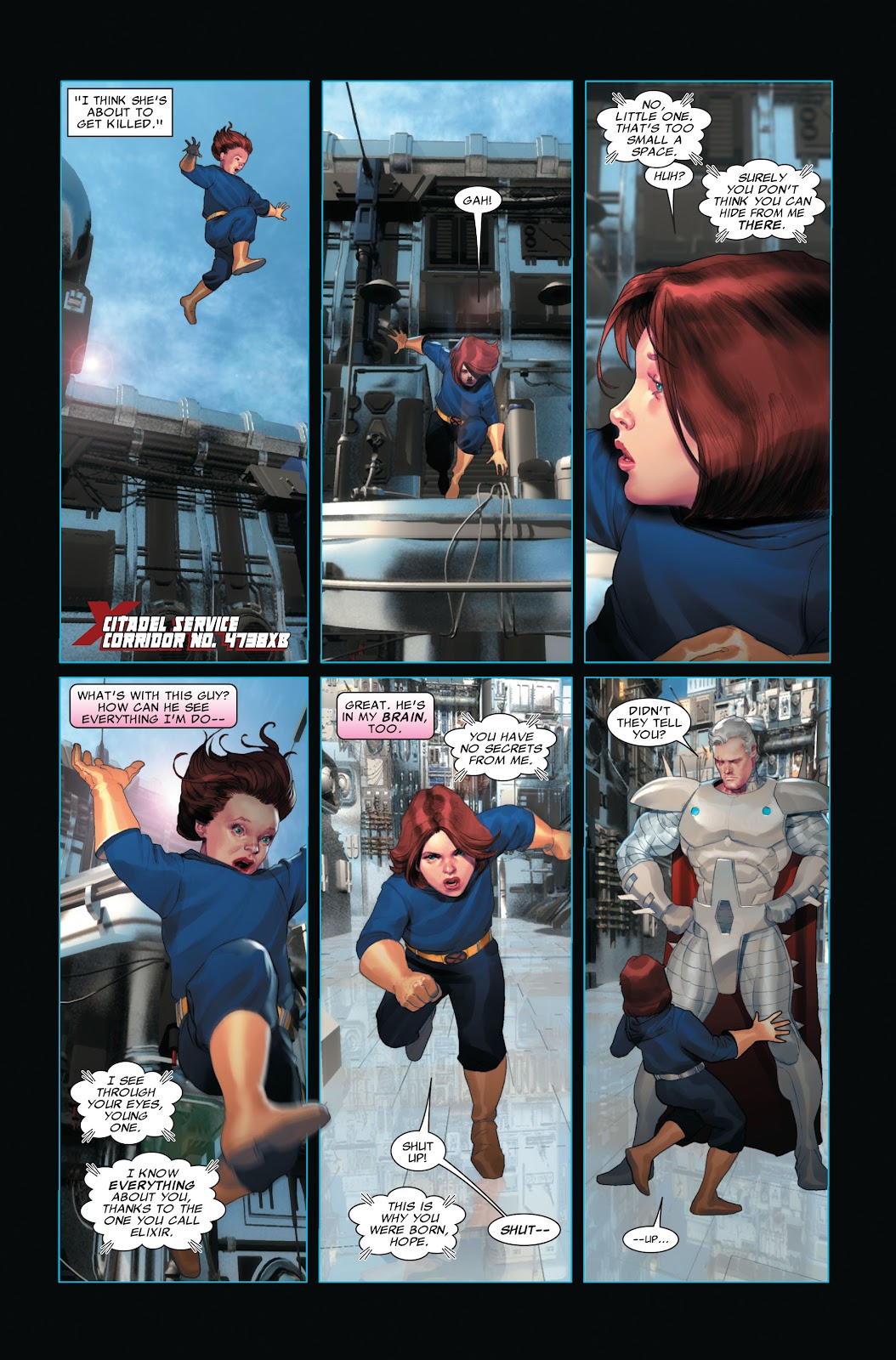 Read online X-Force/Cable: Messiah War comic -  Issue # _TPB (Part 2) - 100