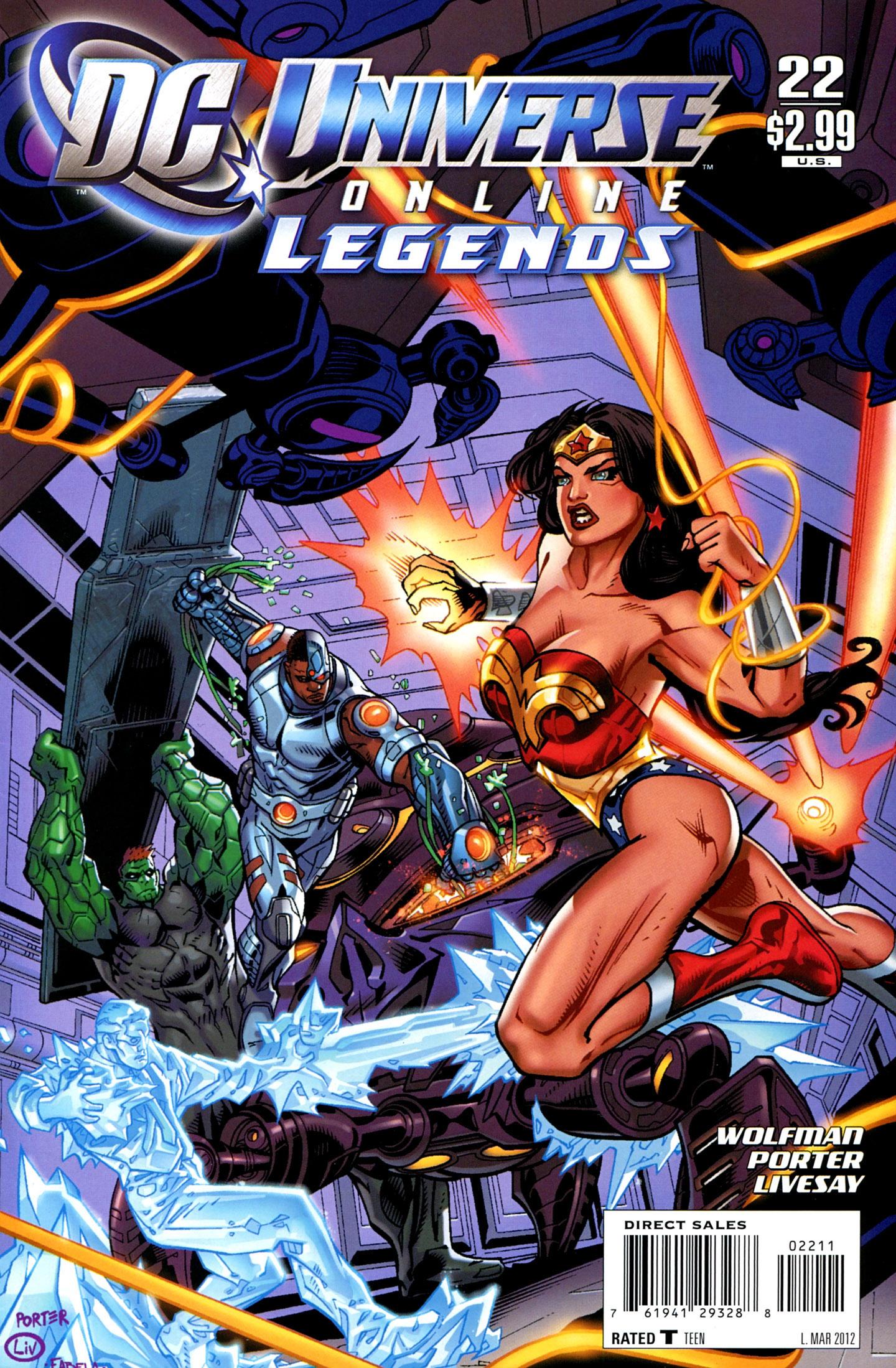 DC Universe Online: Legends 22 Page 1