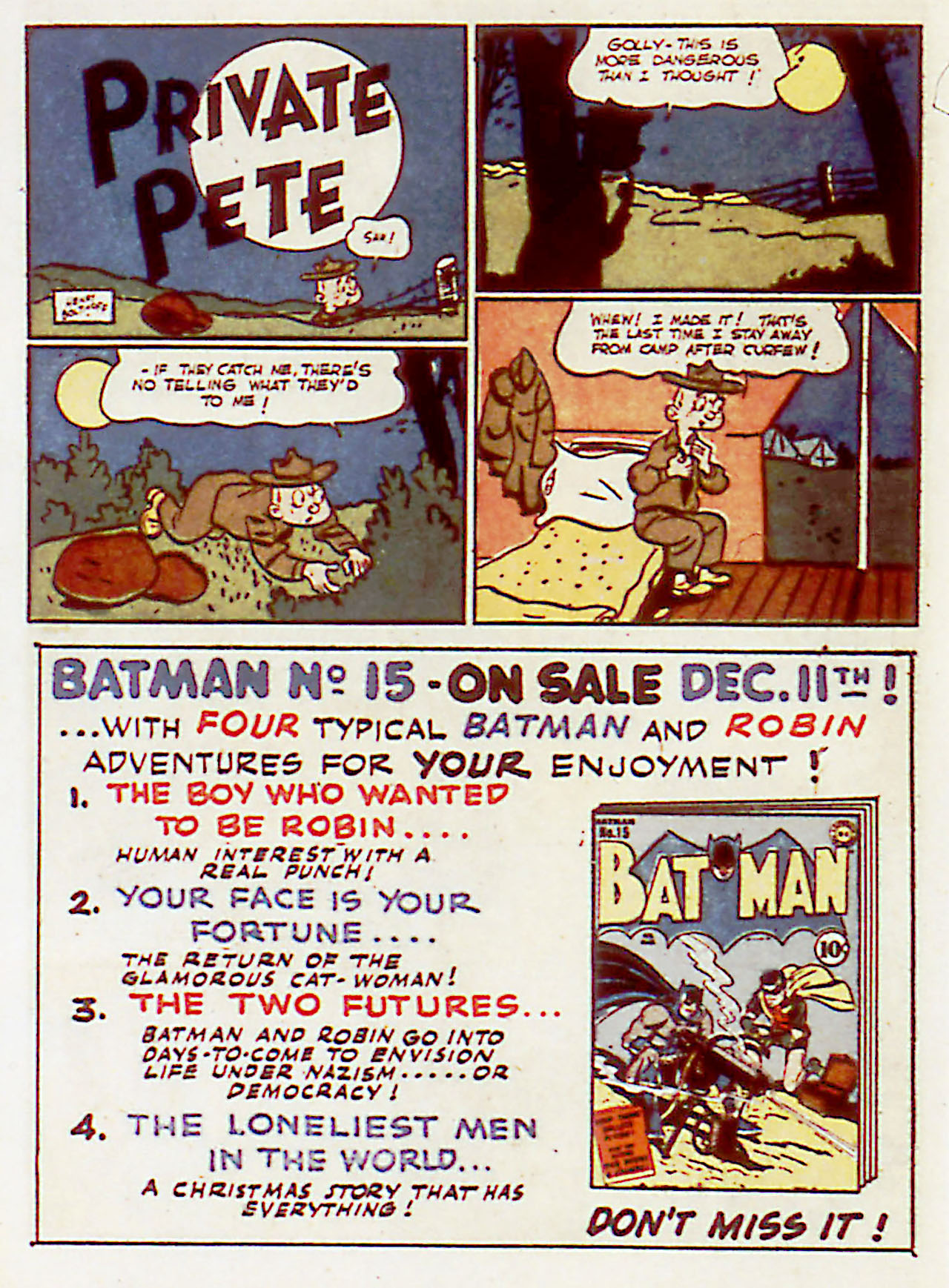 Read online Detective Comics (1937) comic -  Issue #71 - 16