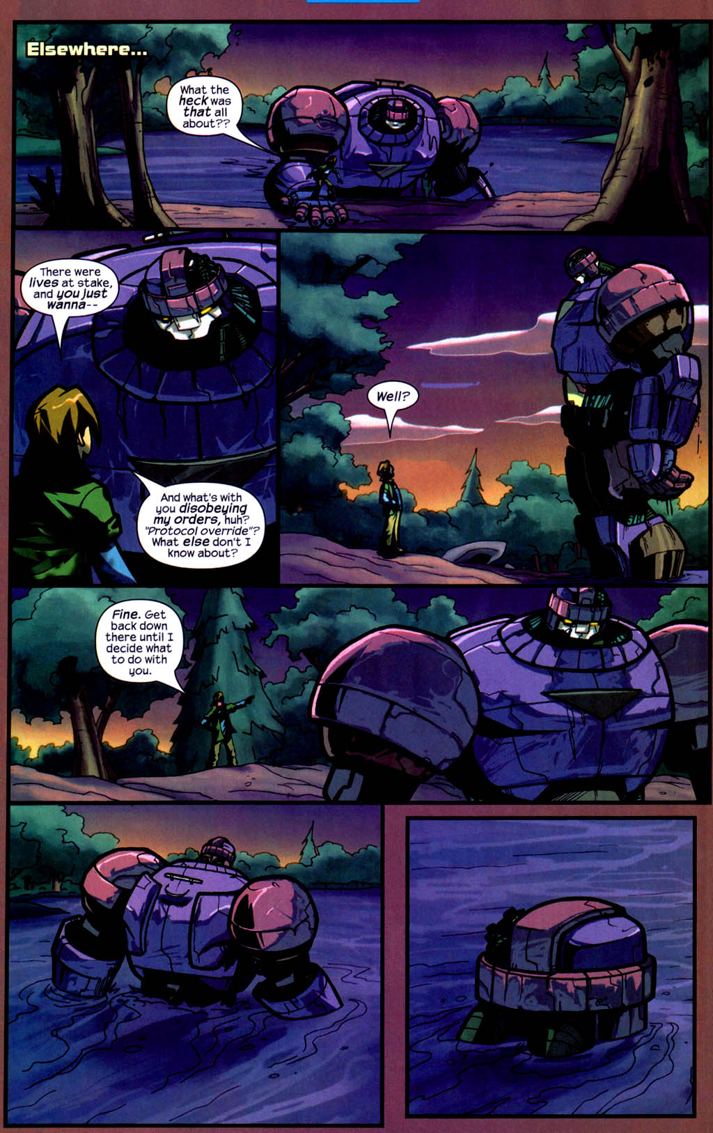 Read online Sentinel comic -  Issue #9 - 20
