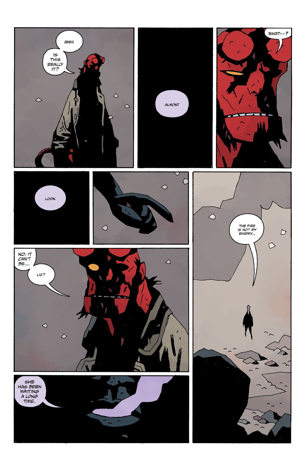 Read online B.P.R.D. The Devil You Know comic -  Issue #15 - 16