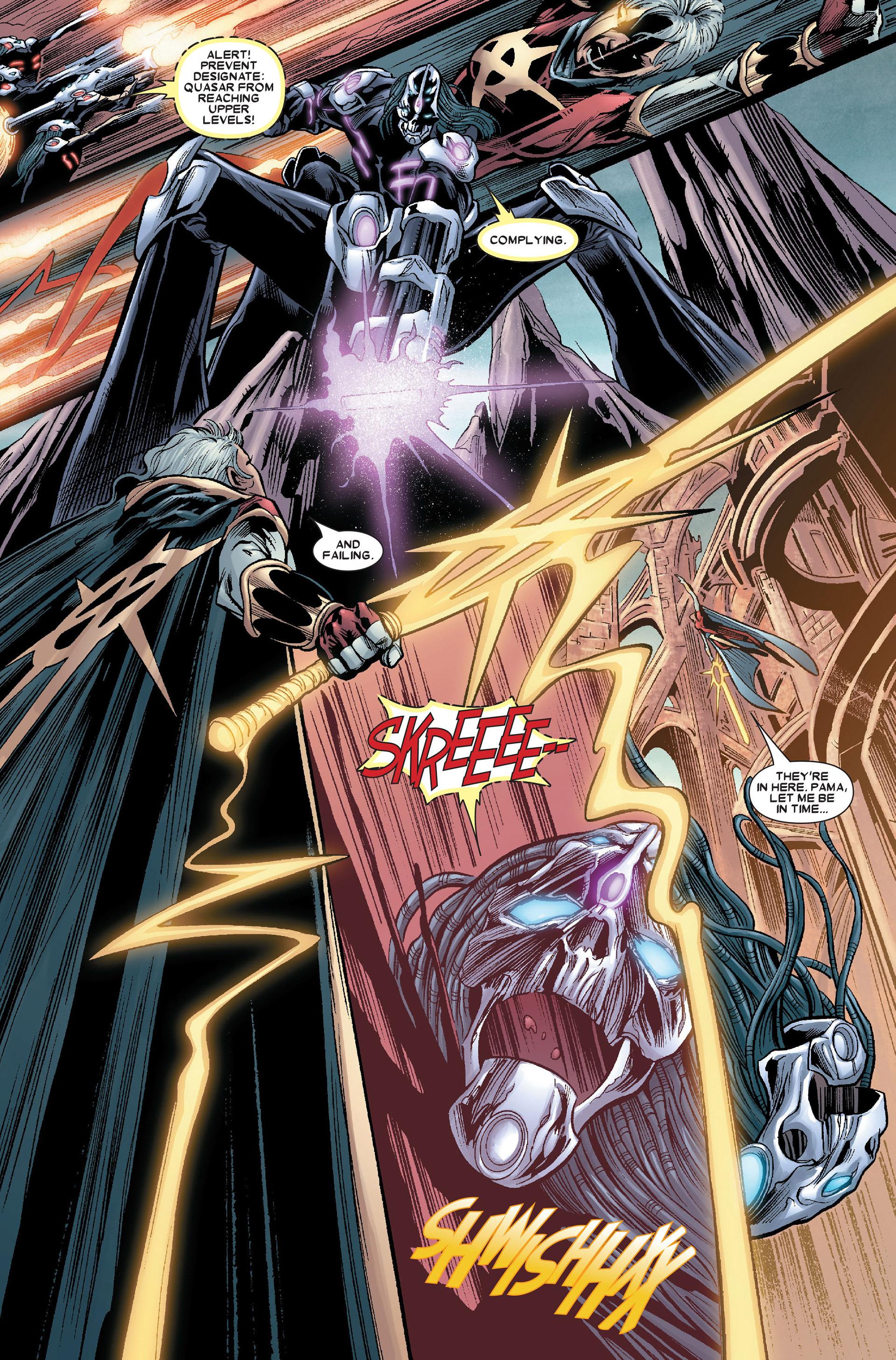 Read online Annihilation: Conquest - Quasar comic -  Issue #4 - 6