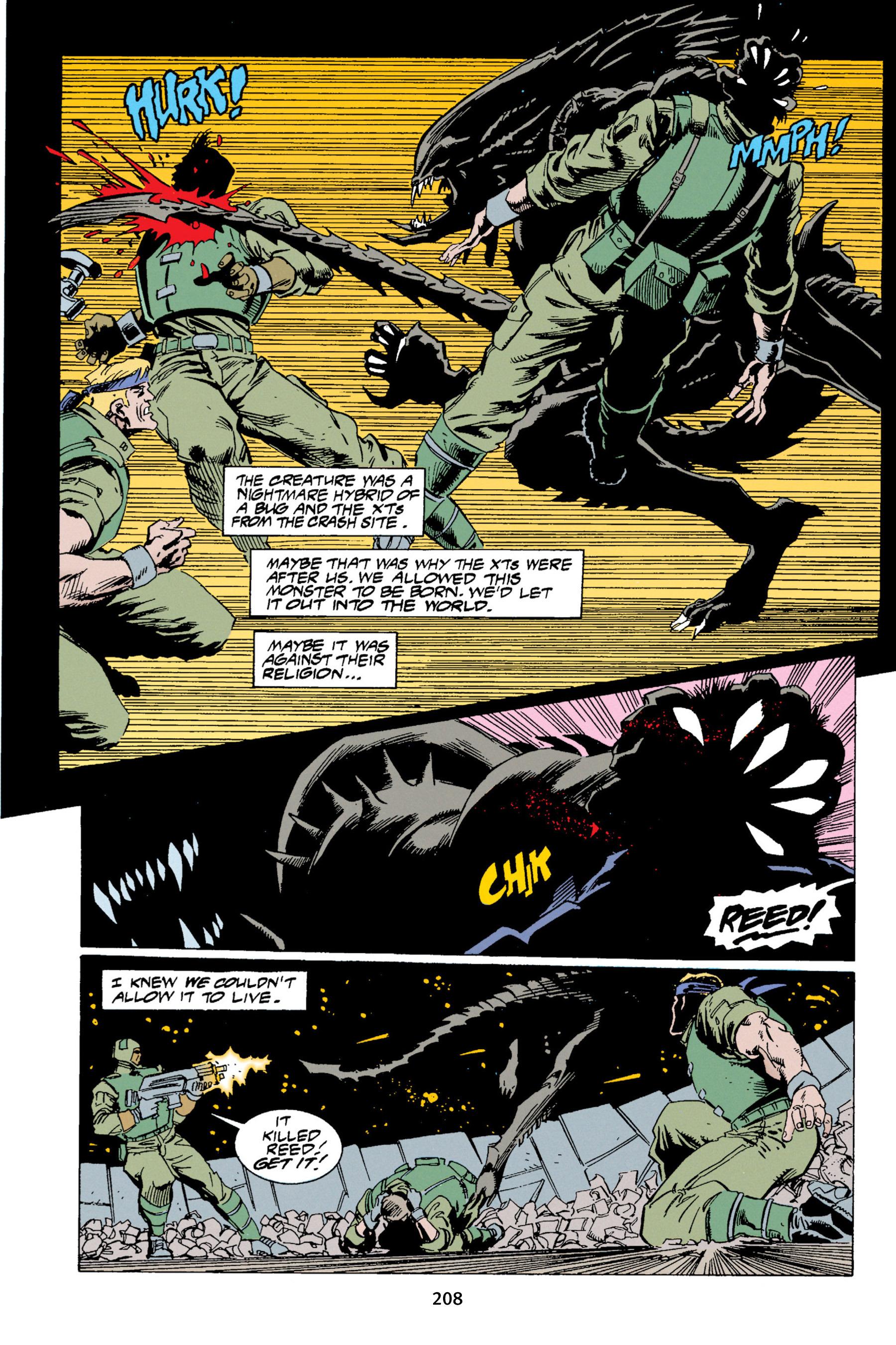 Read online Aliens vs. Predator Omnibus comic -  Issue # _TPB 1 Part 3 - 4