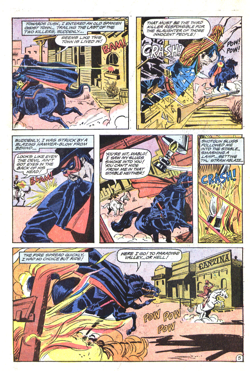 Read online All-Star Western (1970) comic -  Issue #5 - 26