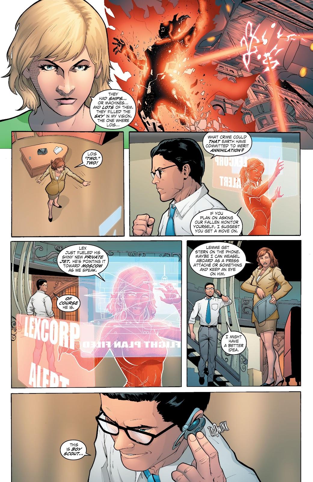 Read online Smallville Season 11 [II] comic -  Issue # TPB 6 - 66