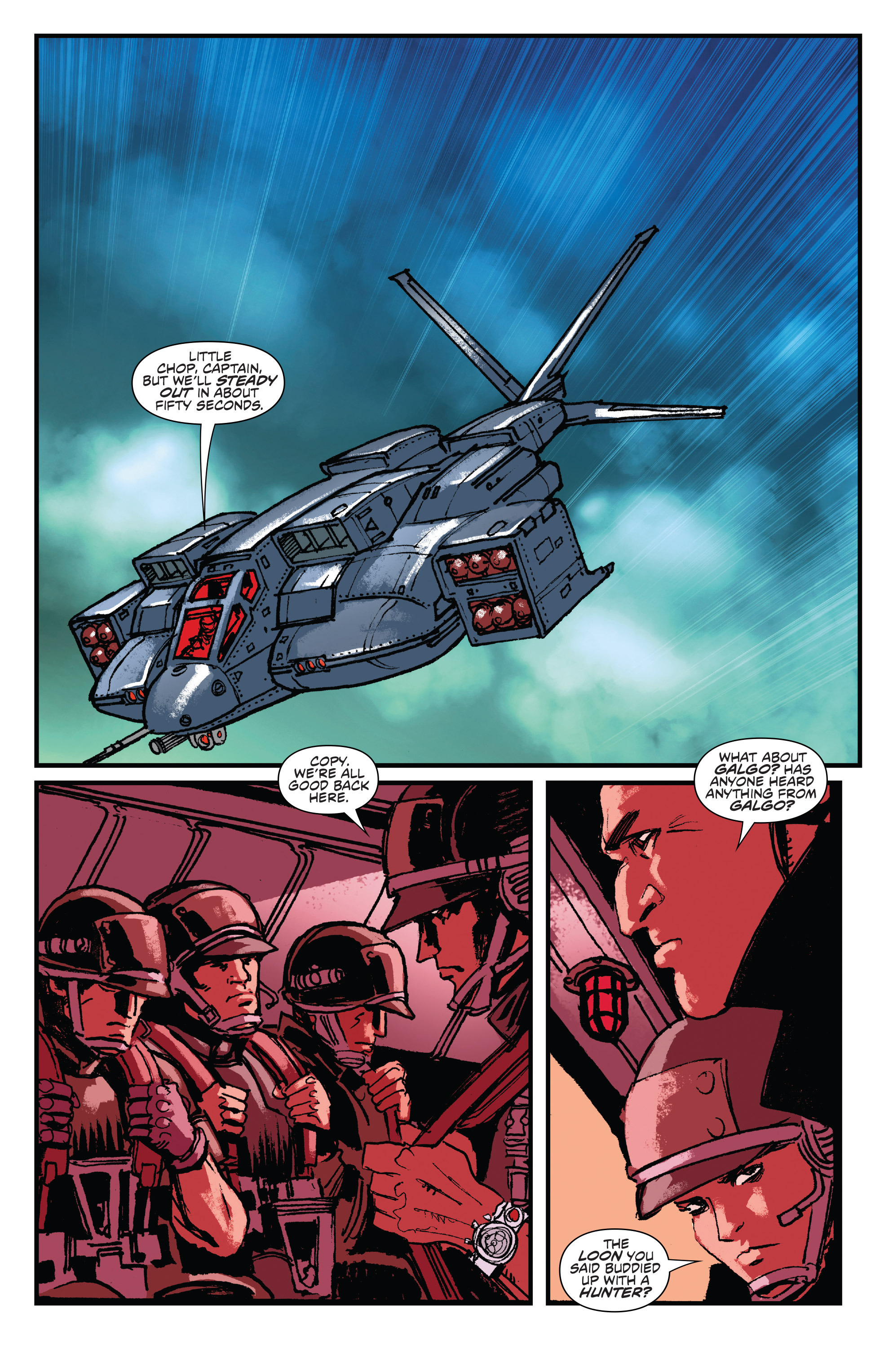 Read online Aliens: Life And Death comic -  Issue #2 - 16