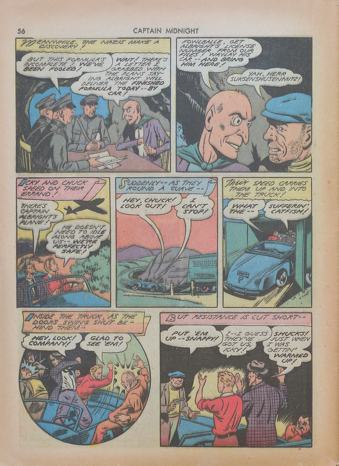 Captain Midnight (1942) issue 7 - Page 56