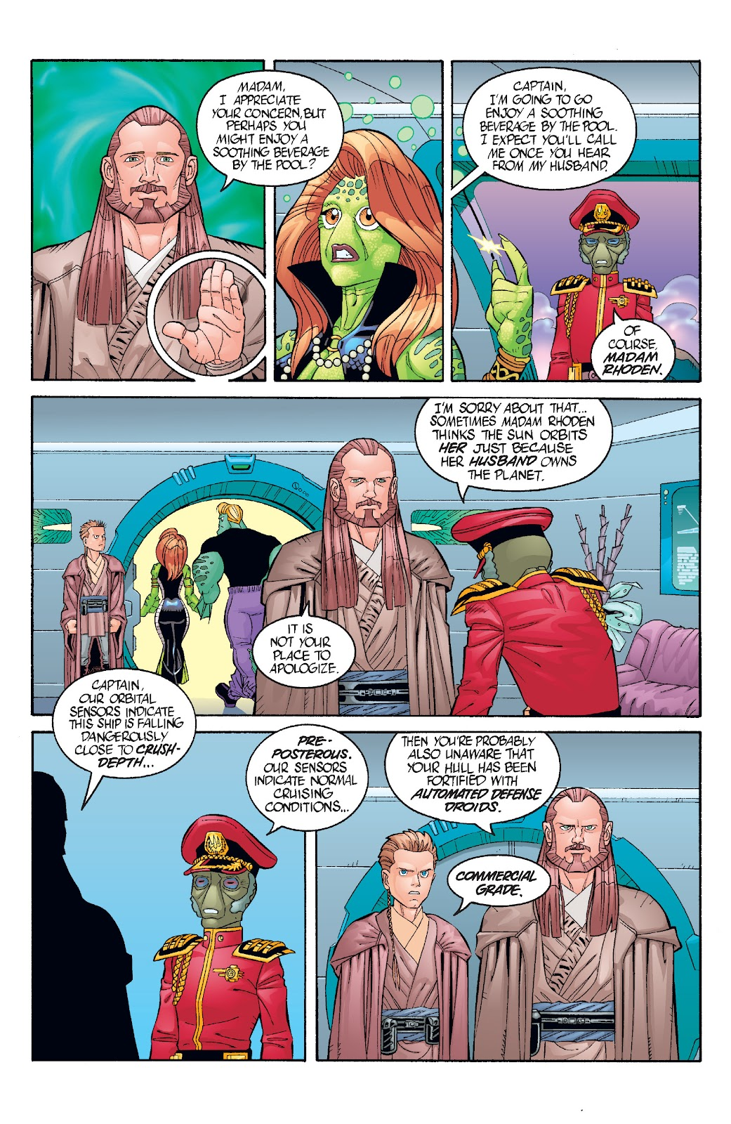 Read online Star Wars Legends: Rise of the Sith - Epic Collection comic -  Issue # TPB 1 (Part 3) - 33
