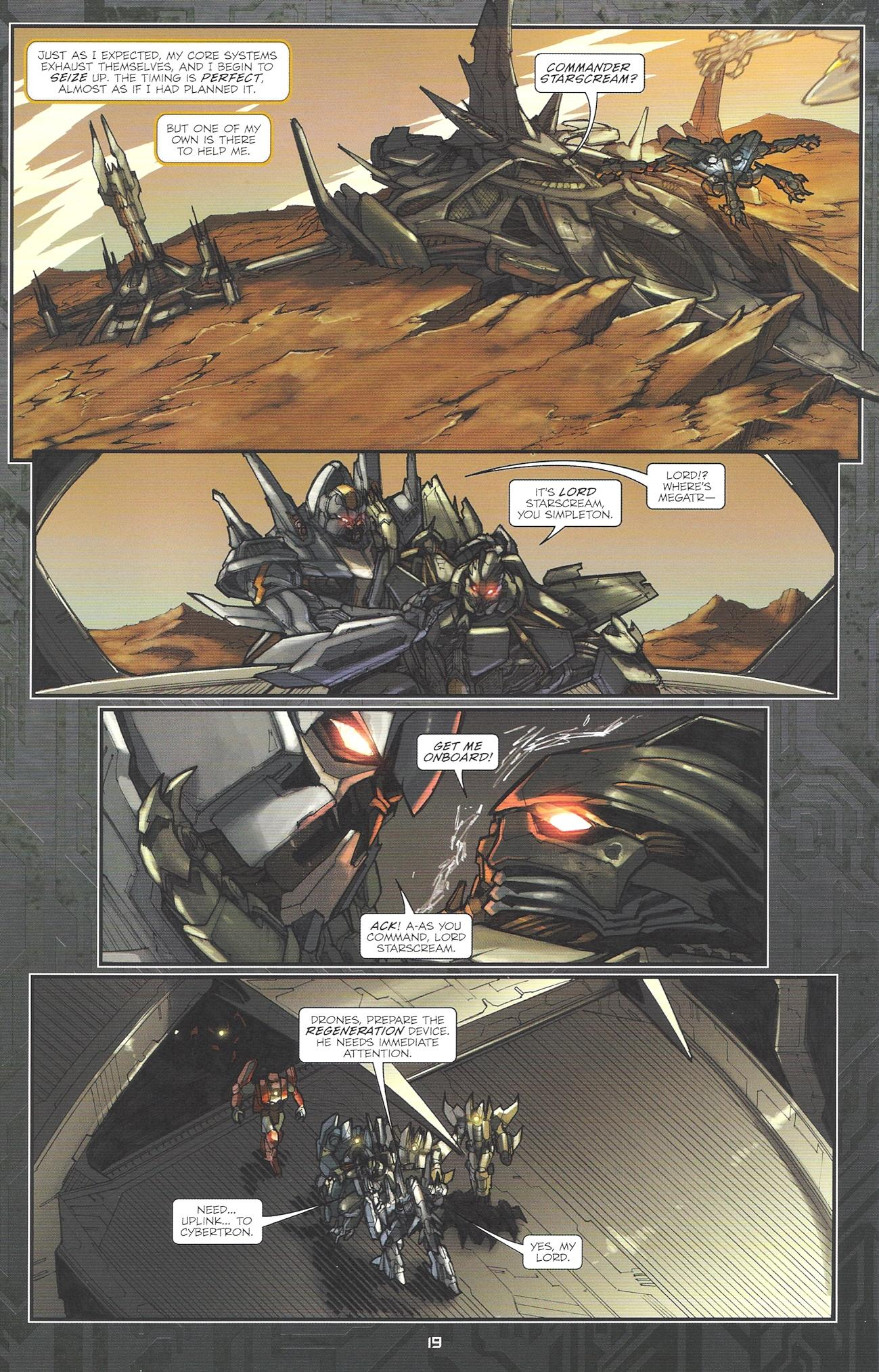 Read online Transformers: The Reign of Starscream comic -  Issue #2 - 21