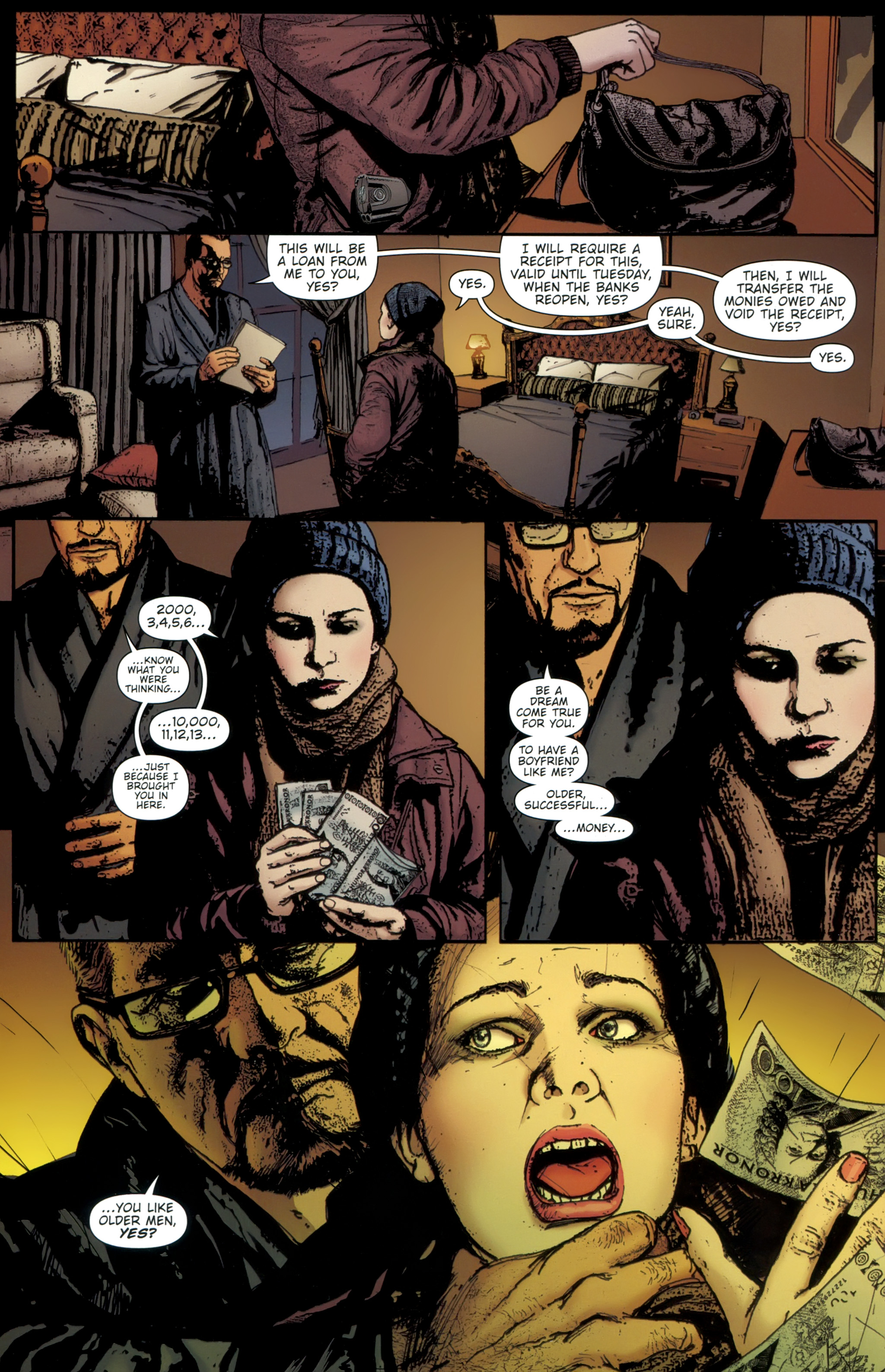 Read online The Girl With the Dragon Tattoo comic -  Issue # TPB 1 - 119