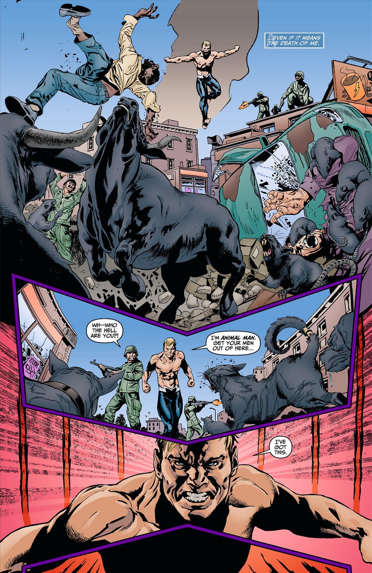 Read online Animal Man (2011) comic -  Issue #8 - 15