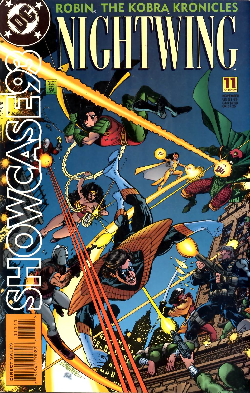 Read online Showcase '93 comic -  Issue #11 - 1