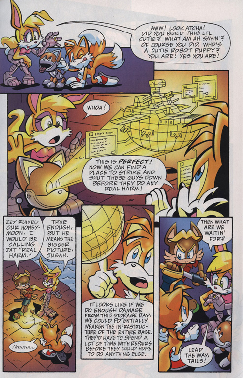 Read online Sonic Universe comic -  Issue #19 - 17