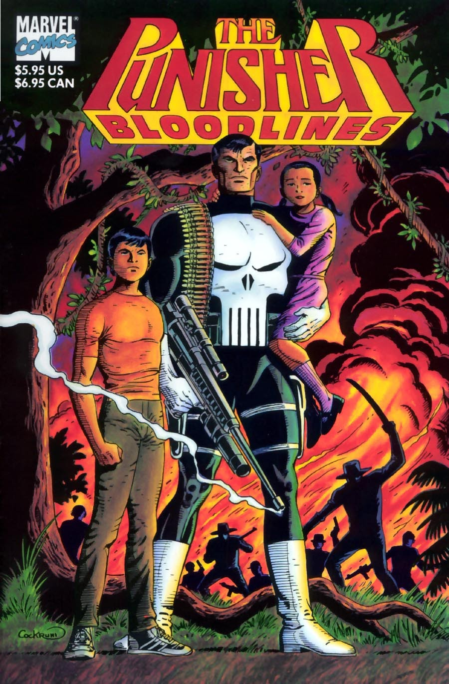 Read online Punisher Bloodlines comic -  Issue # Full - 1