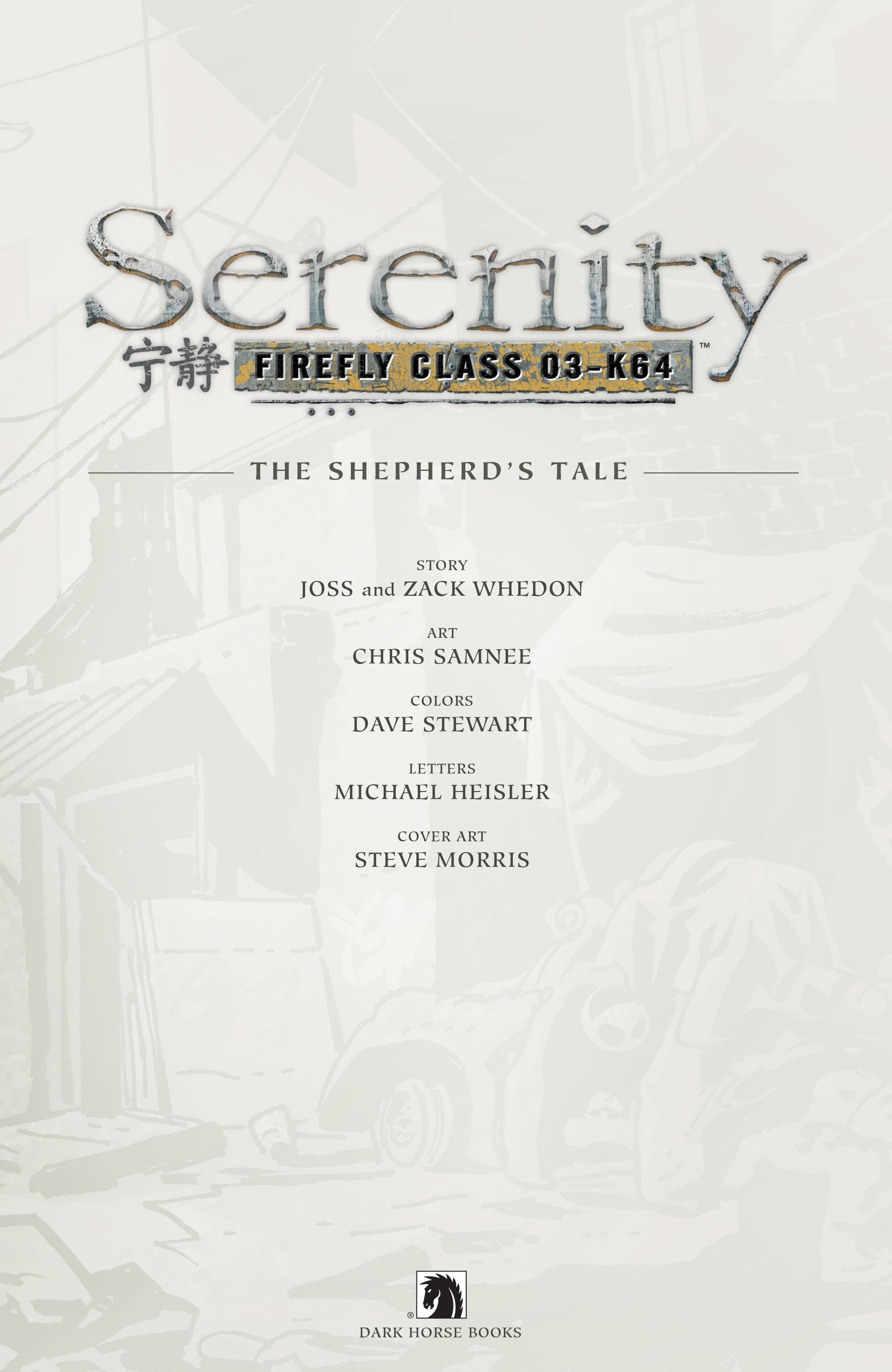 Read online Serenity Volume Three: The Shepherd's Tale comic -  Issue # TPB - 5